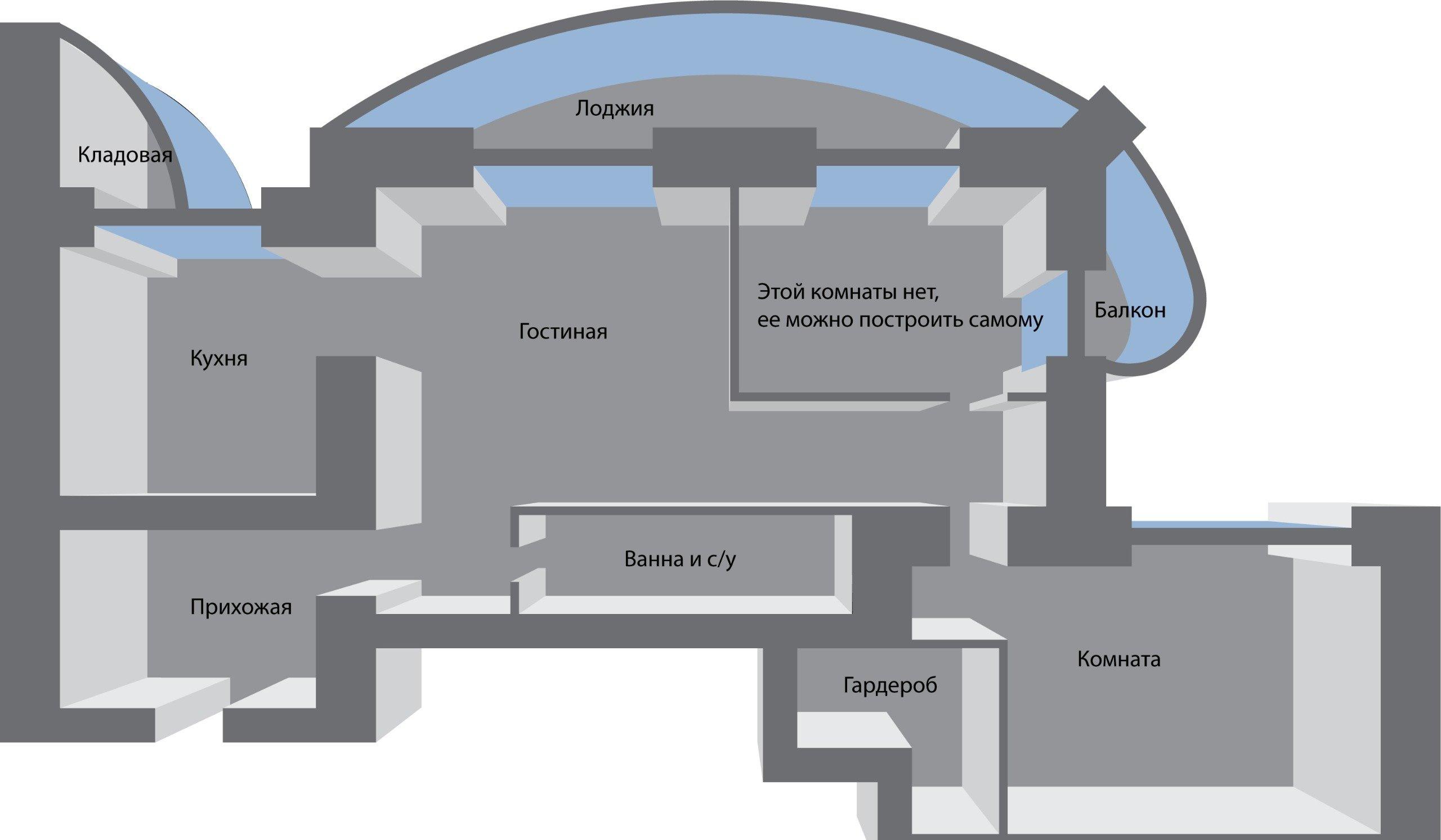 2к квартира Северный проезд, д 10 | 23000 | аренда в Красноярске фото 0