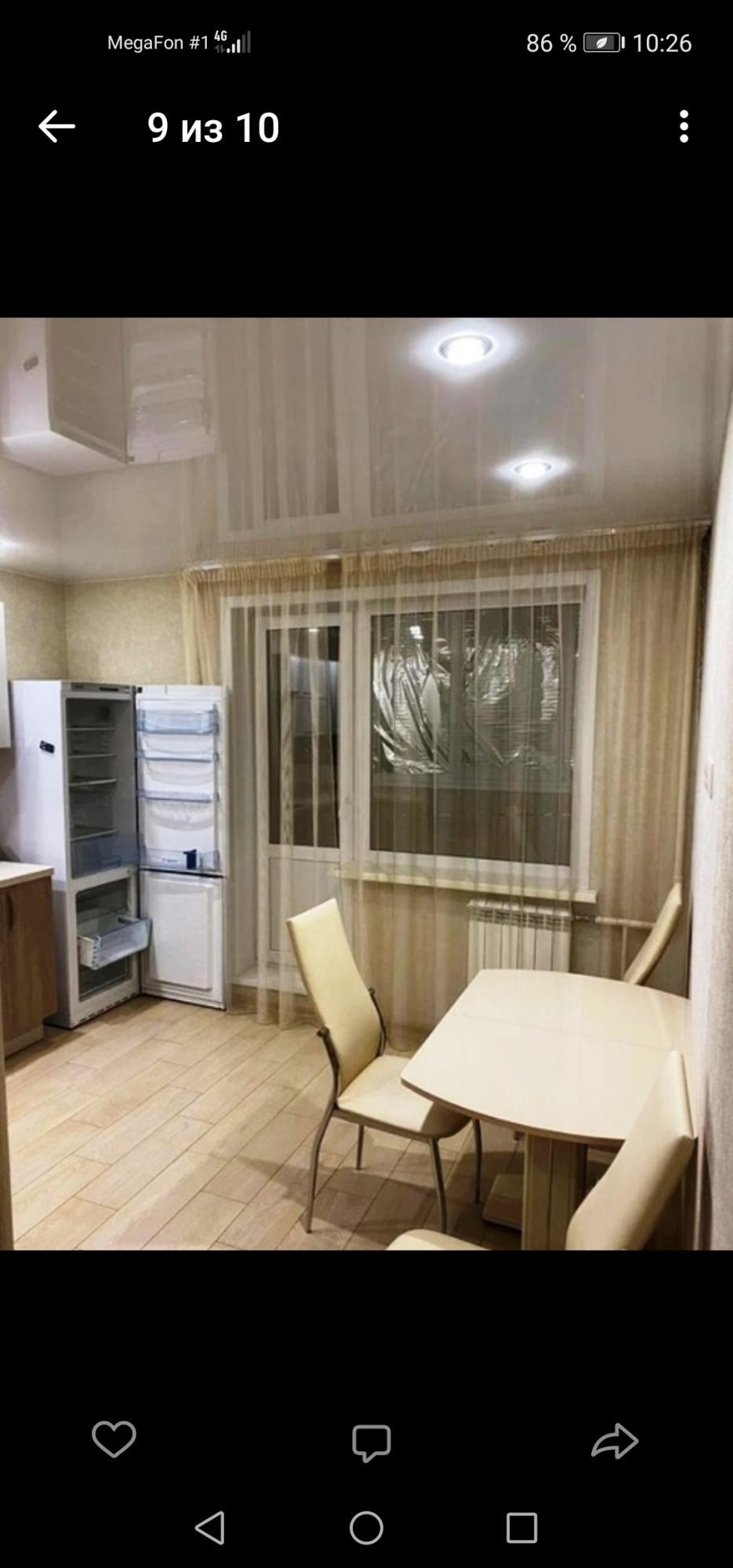 1к квартира Шелковая улица, 4А   11000   аренда в Красноярске фото 0