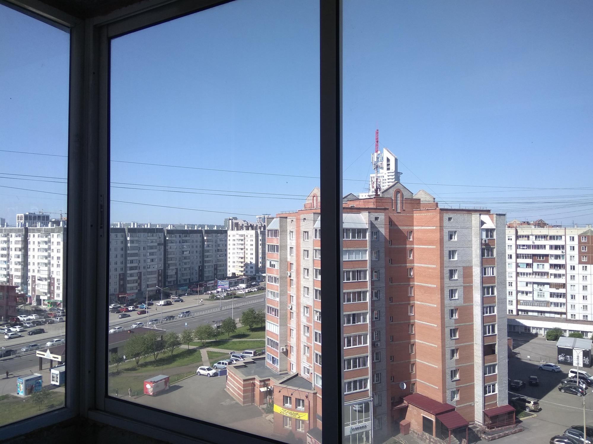 2к квартира Взлётка, 7-ой микрорайон, улица Батурина, 15 | 19000 | аренда в Красноярске фото 1