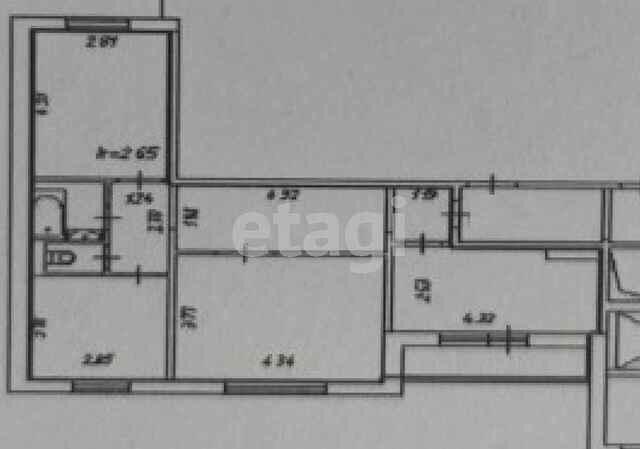3к квартира улица Дмитрия Мартынова, 24   27000   аренда в Красноярске фото 3