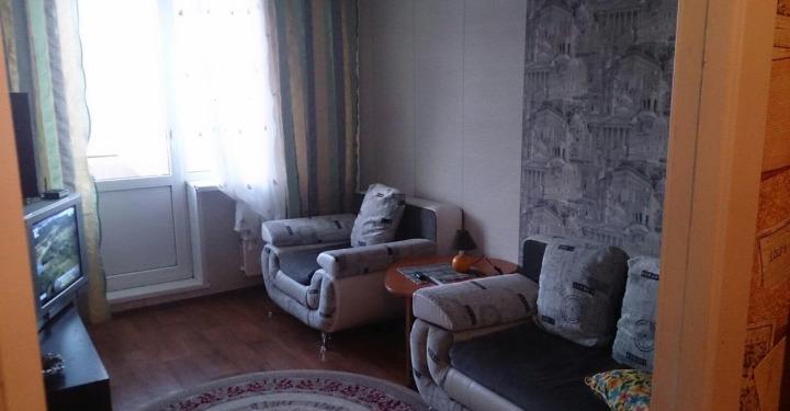1к квартира Взлётка, 7-ой микрорайон, улица Молокова, 17 | 17500 | аренда в Красноярске фото 3