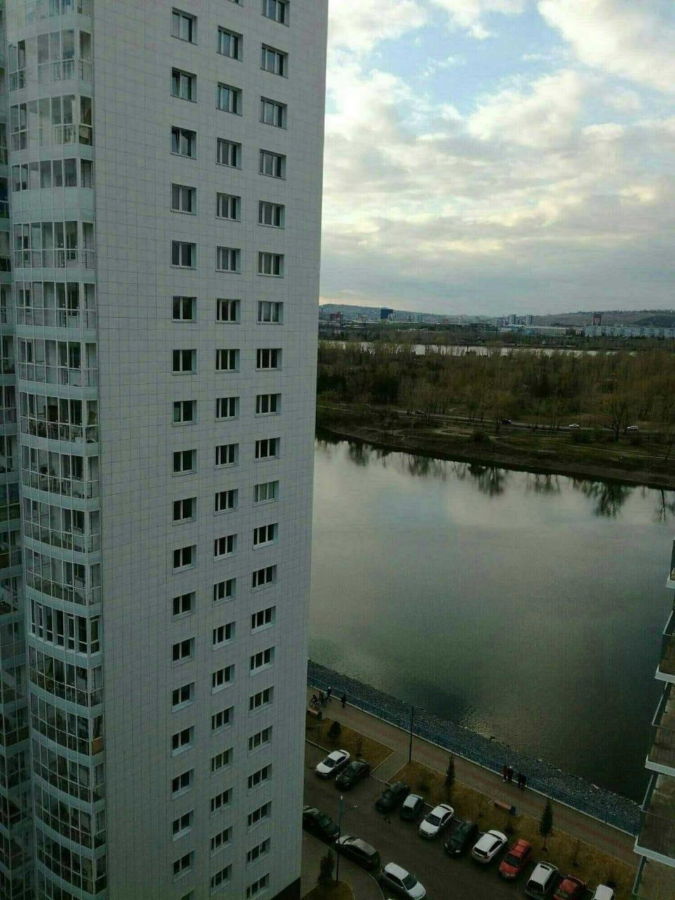 2к квартира Ярыгинская набережная, 5 | 16000 | аренда в Красноярске фото 1