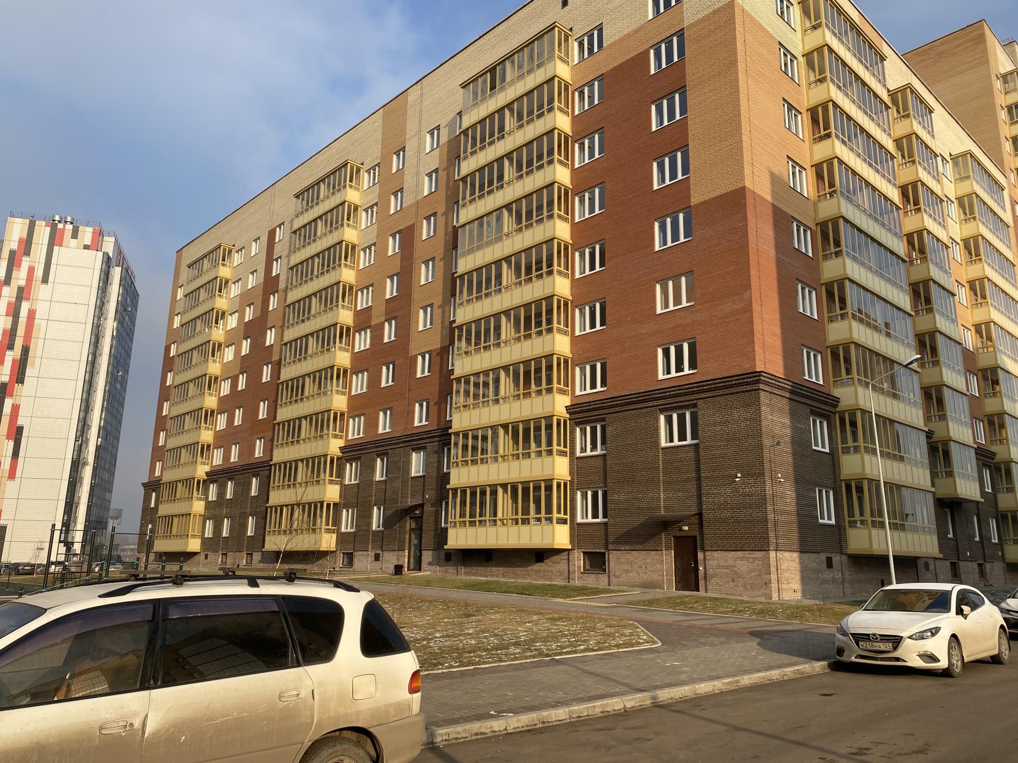 1к квартира Апрельская улица, 1   13000   аренда в Красноярске фото 3