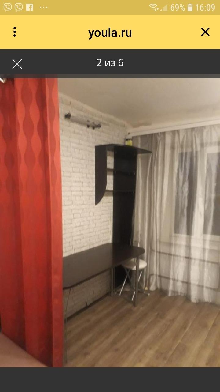 1к квартира улица Кутузова, 21   7000   аренда в Красноярске фото 0