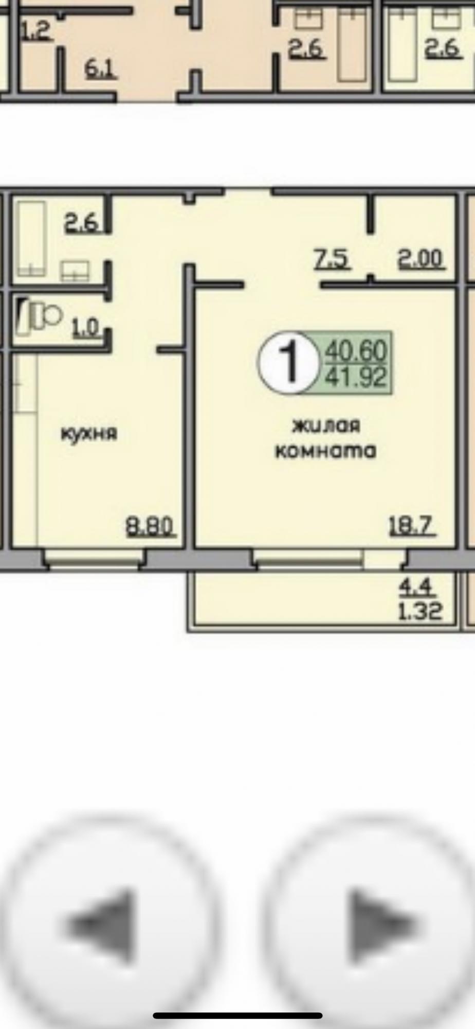 1к квартира улица Любы Шевцовой, 78 | 15000 | аренда в Красноярске фото 0