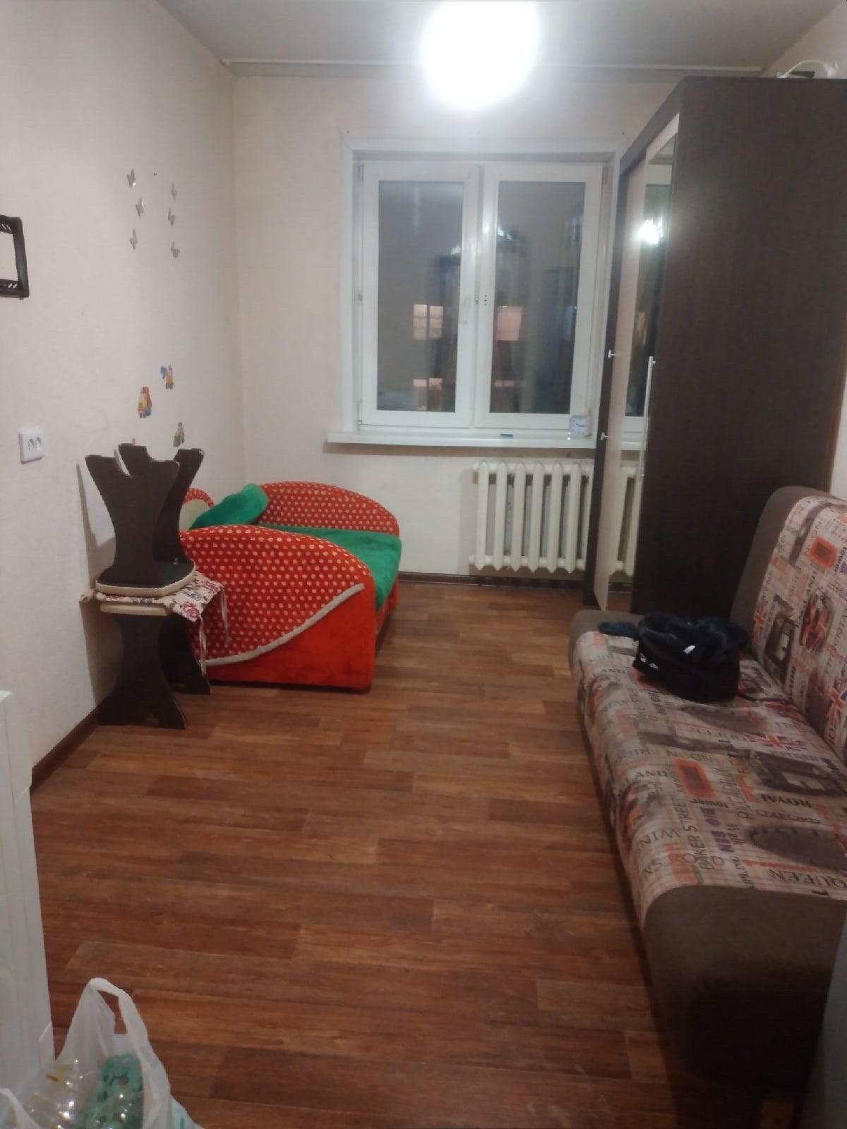 1к квартира Апрельская улица, 4 | 8000 | аренда в Красноярске фото 1