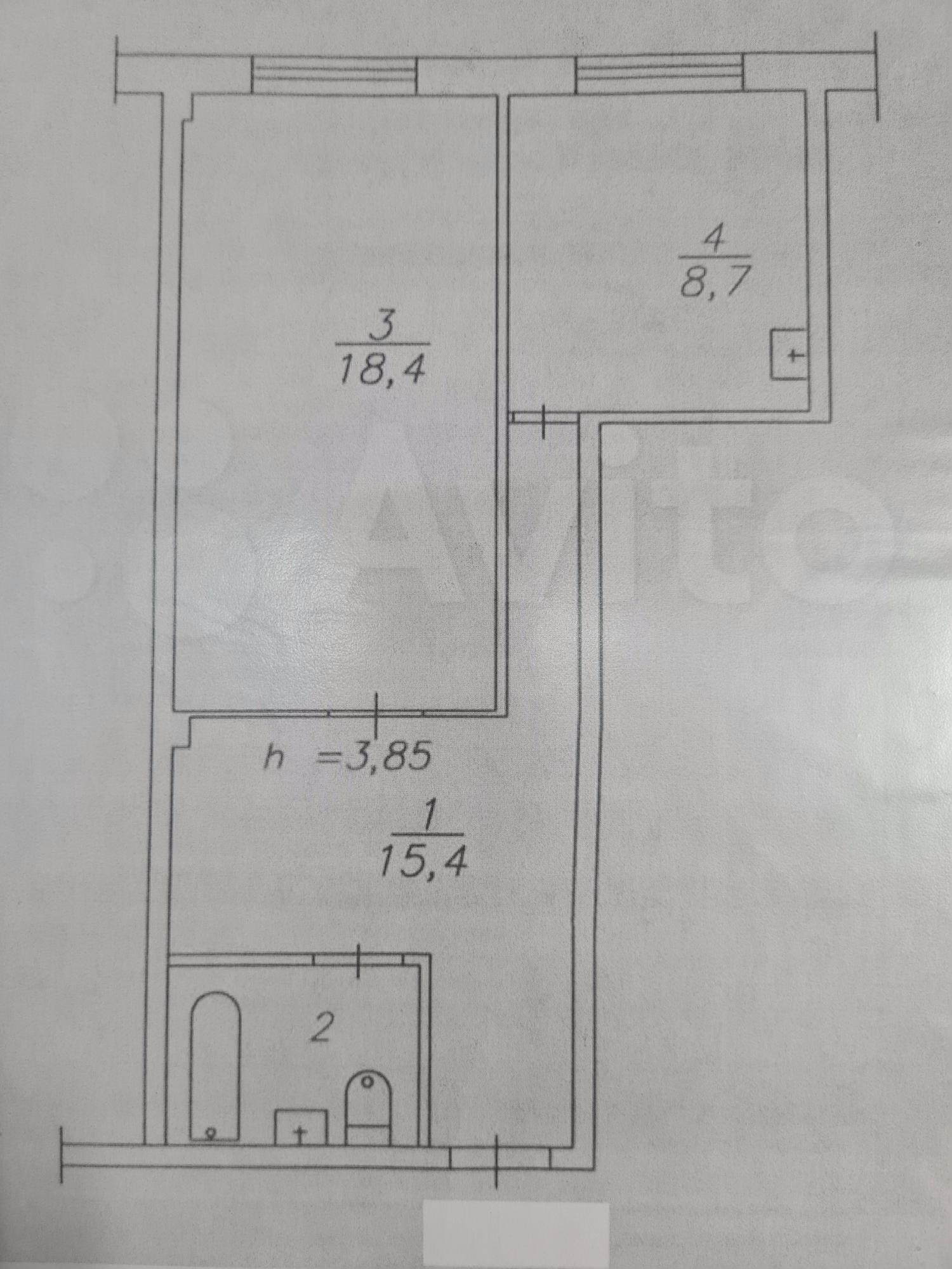 1к квартира Молодёжный проспект, 3 | 10000 | аренда в Красноярске фото 7