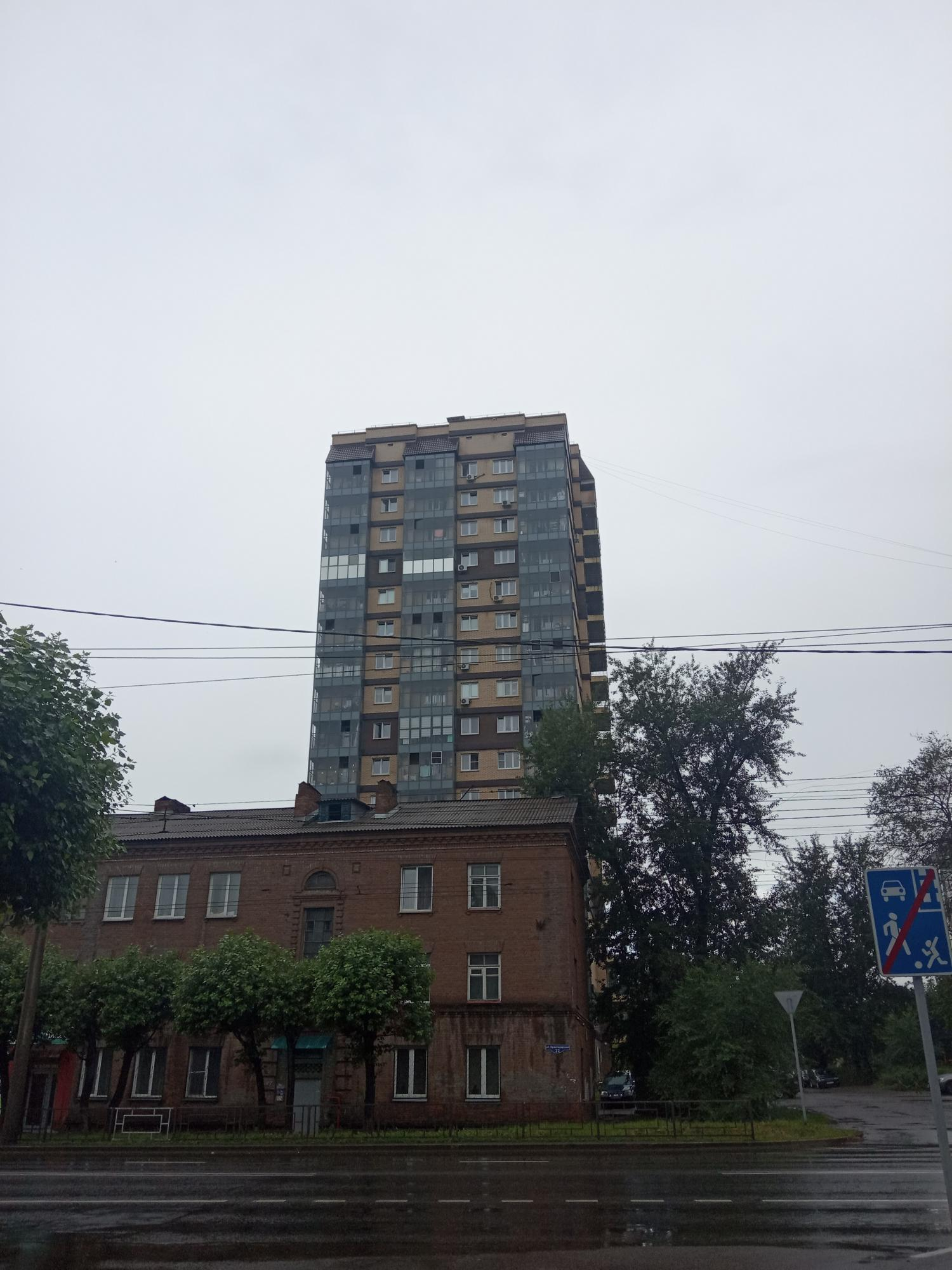1к квартира Краснодарская улица, 22А | 15500 | аренда в Красноярске фото 0
