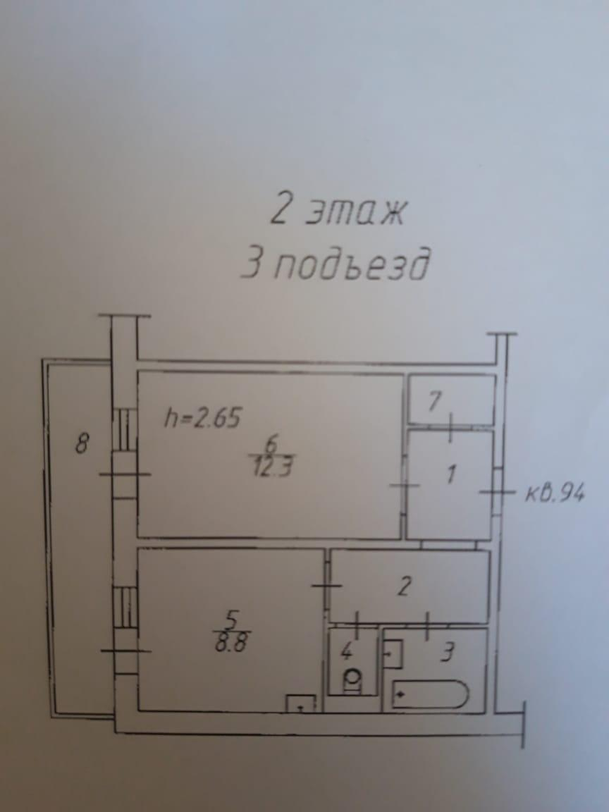 1к квартира Светлогорская улица | 12000 | аренда в Красноярске фото 6