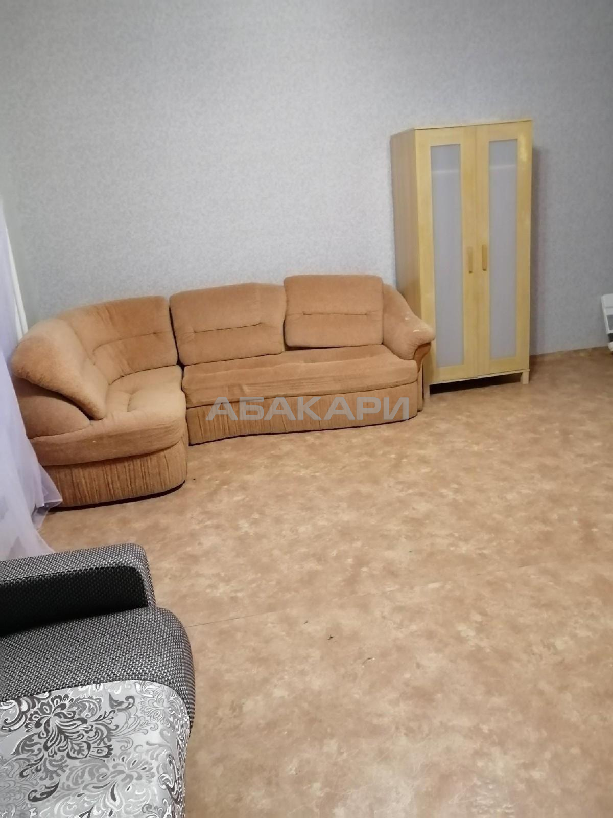 1к квартира улица Калинина, 47И   15000   аренда в Красноярске фото 0