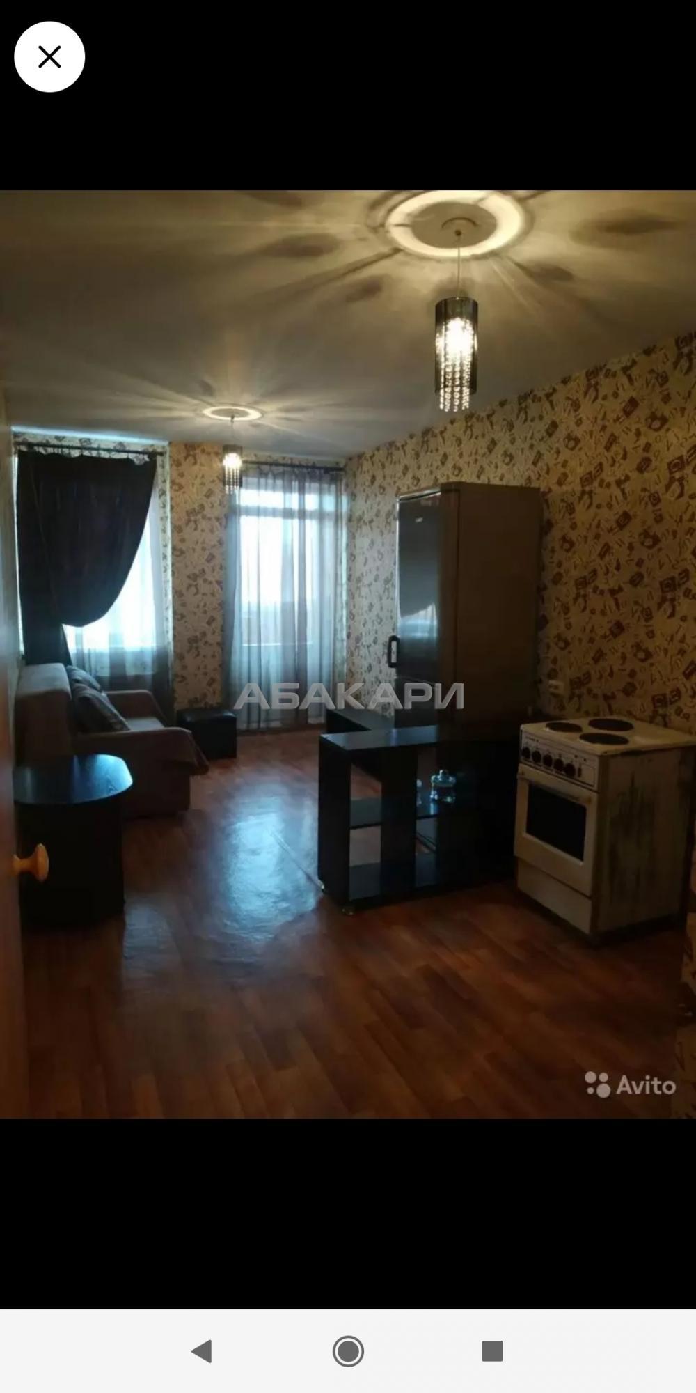1к квартира Соколовская улица, 72А 17/17 - 45кв | 13500 | аренда в Красноярске фото 3