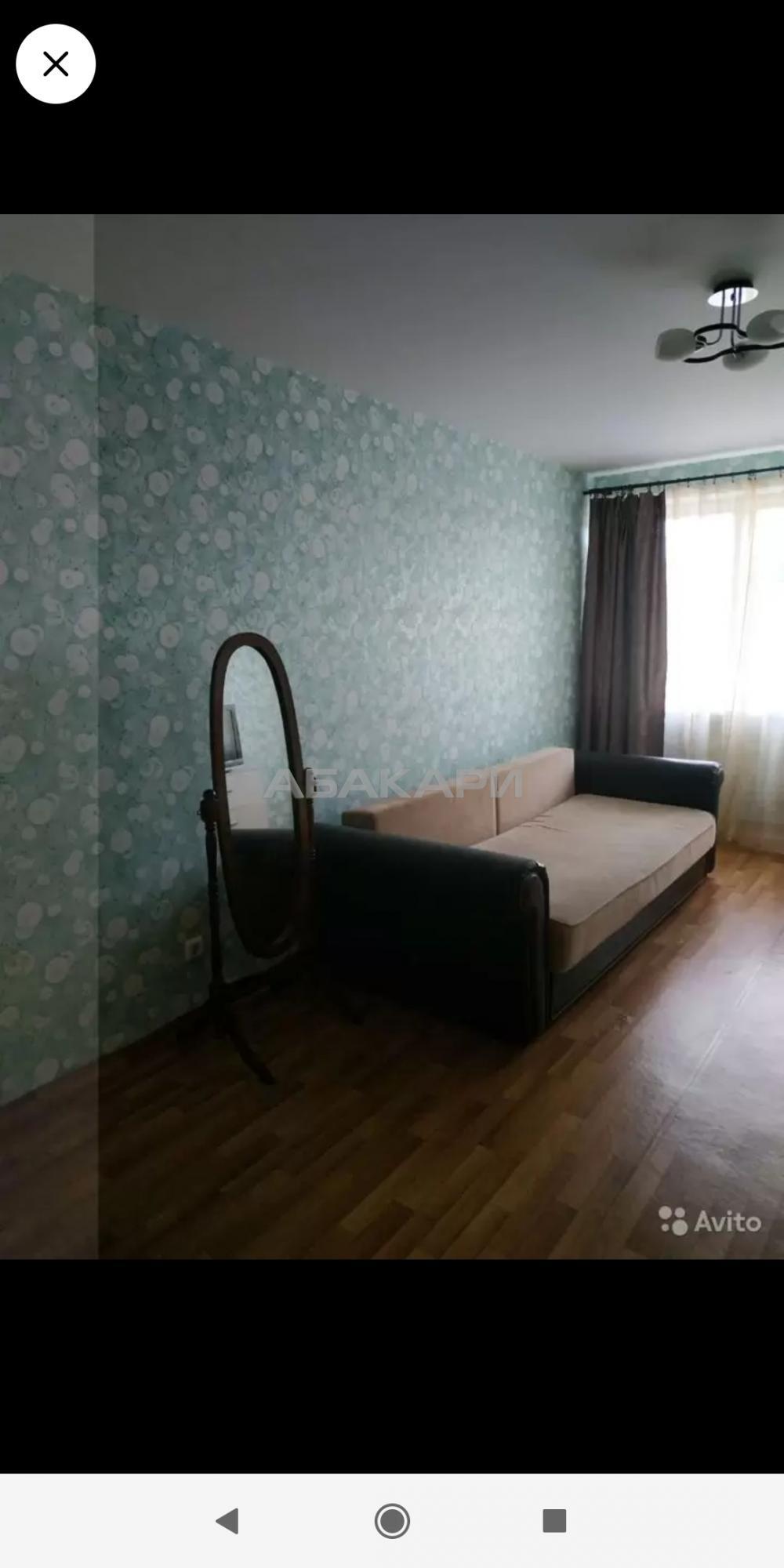 1к квартира Соколовская улица, 72А 17/17 - 45кв | 13500 | аренда в Красноярске фото 1