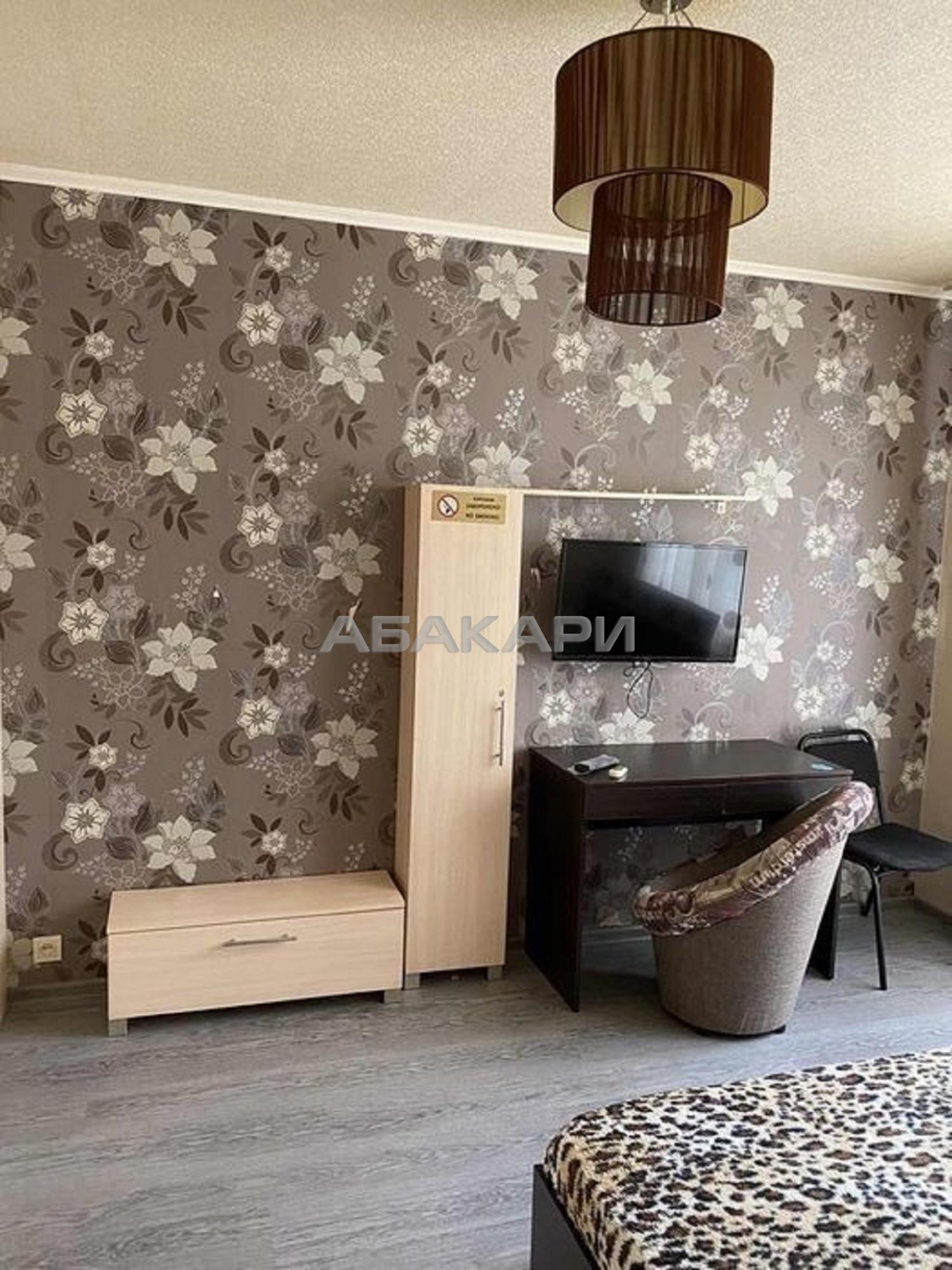 1к квартира улица Александра Матросова, 5 | 13500 | аренда в Красноярске фото 1