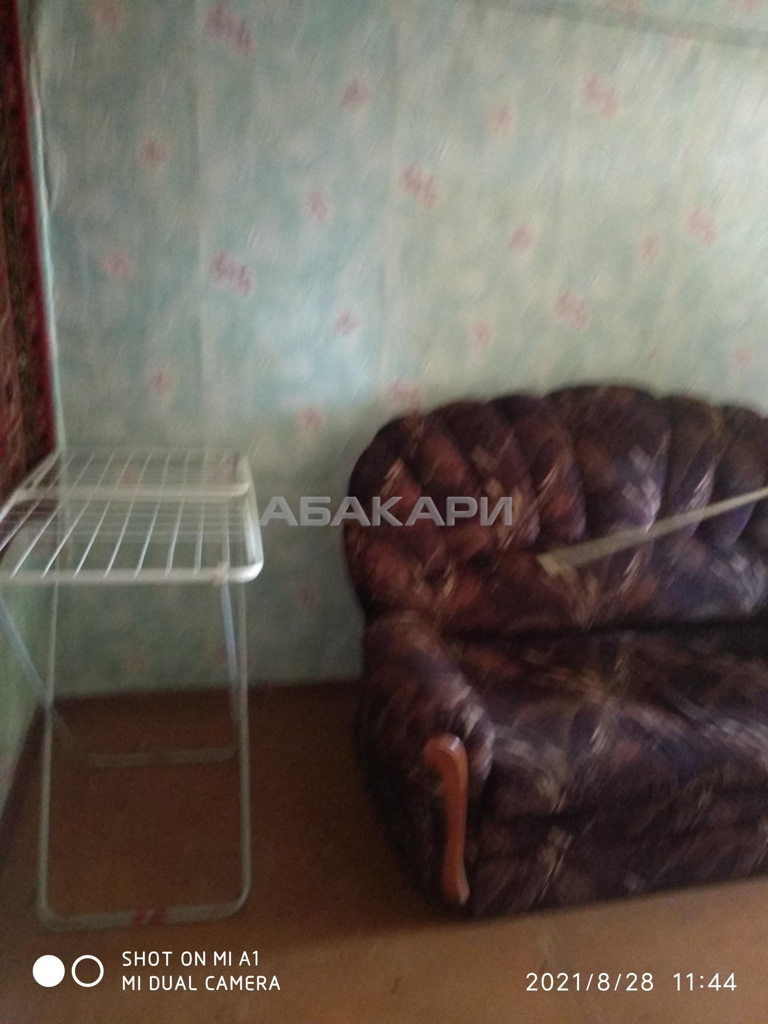 2к квартира улица Вавилова, 25Б | 15000 | аренда в Красноярске фото 1