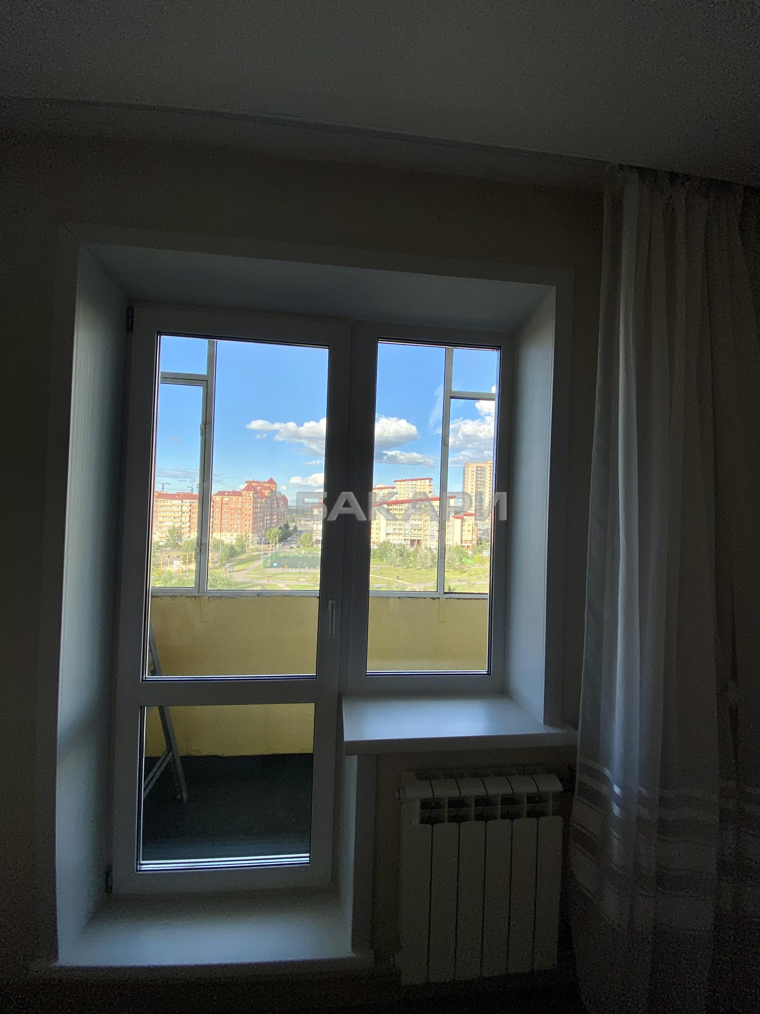 1к квартира улица Весны | 24000 | аренда в Красноярске фото 3