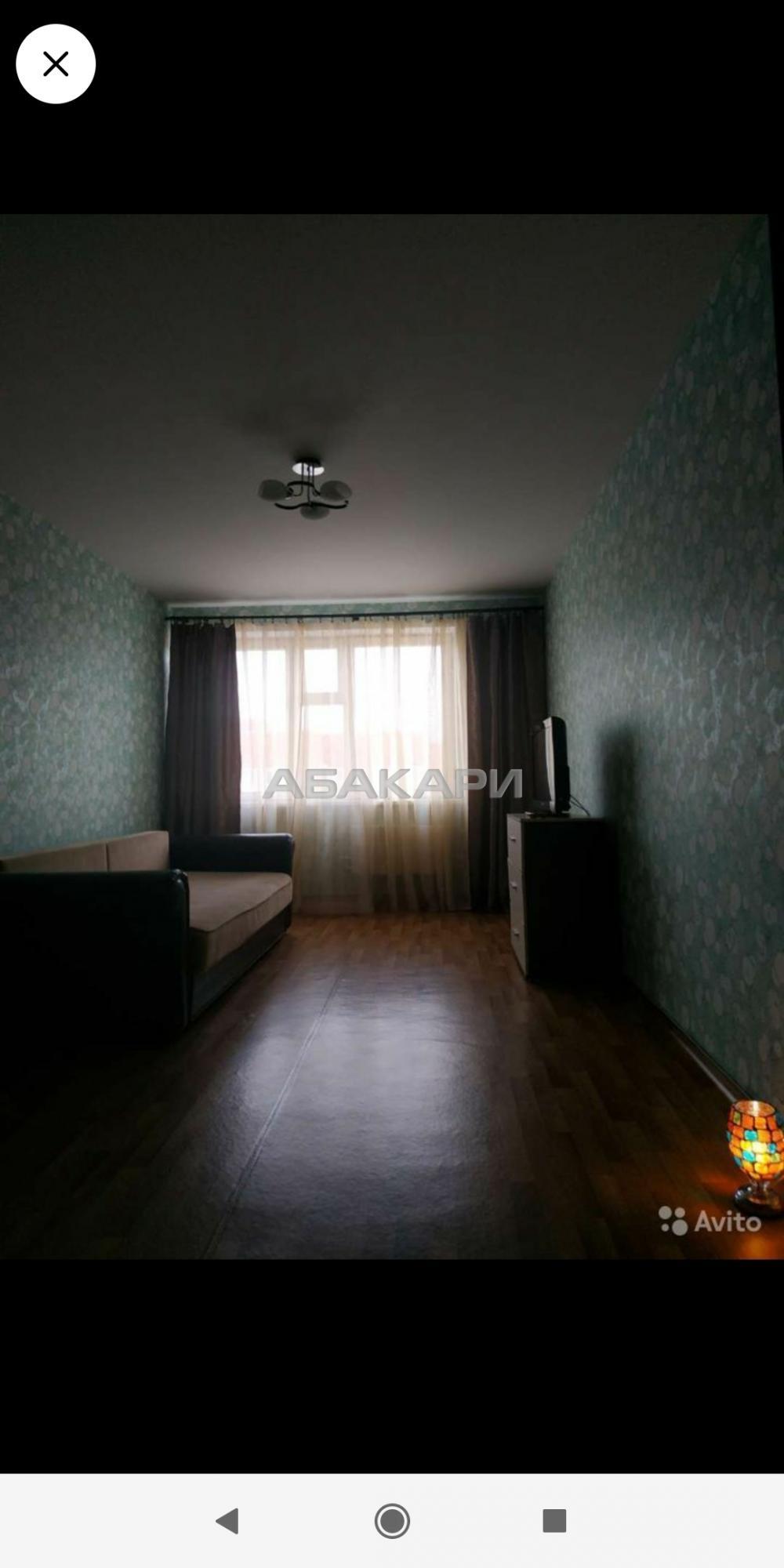 1к квартира Соколовская улица, 72А 17/17 - 45кв | 13500 | аренда в Красноярске фото 0