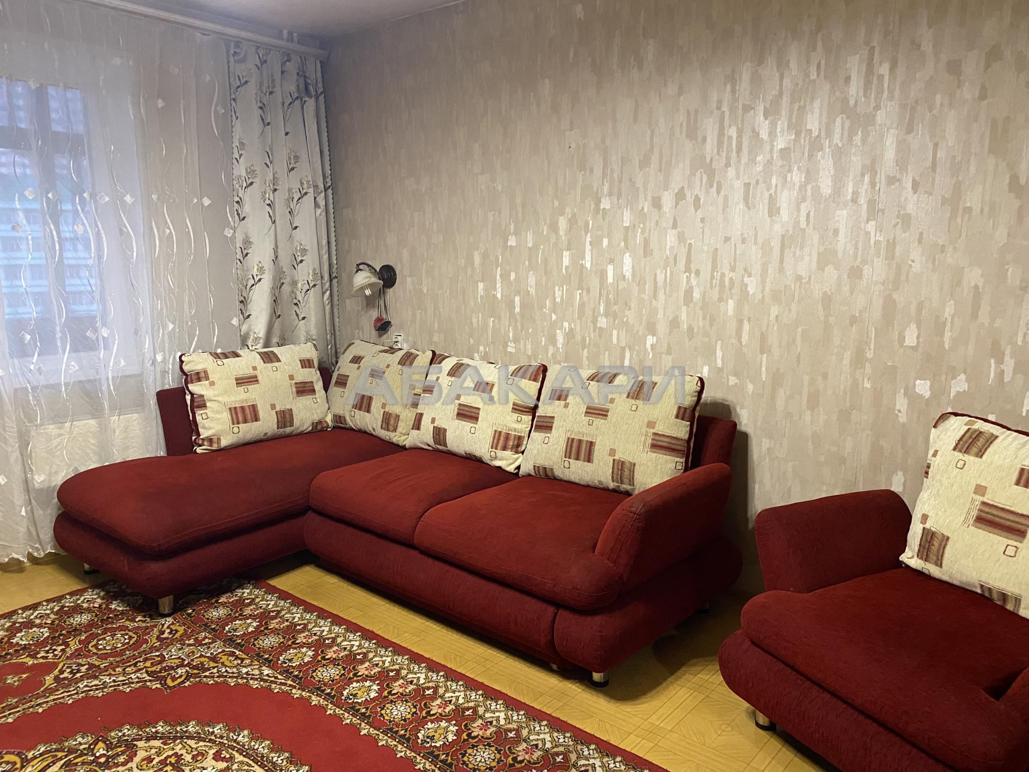 2к квартира улица Славы, 1 | 17000 | аренда в Красноярске фото 1