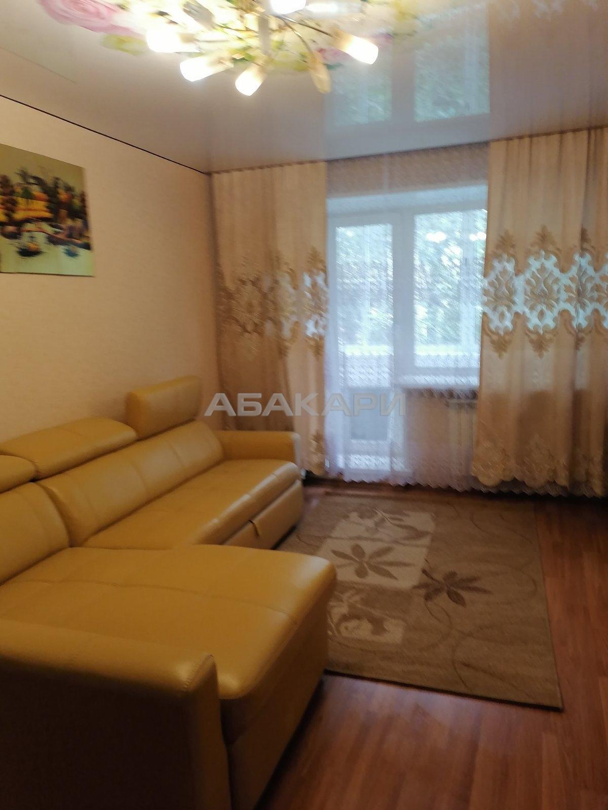 3к квартира Аэровокзальная улица, 2Б | 28000 | аренда в Красноярске фото 1