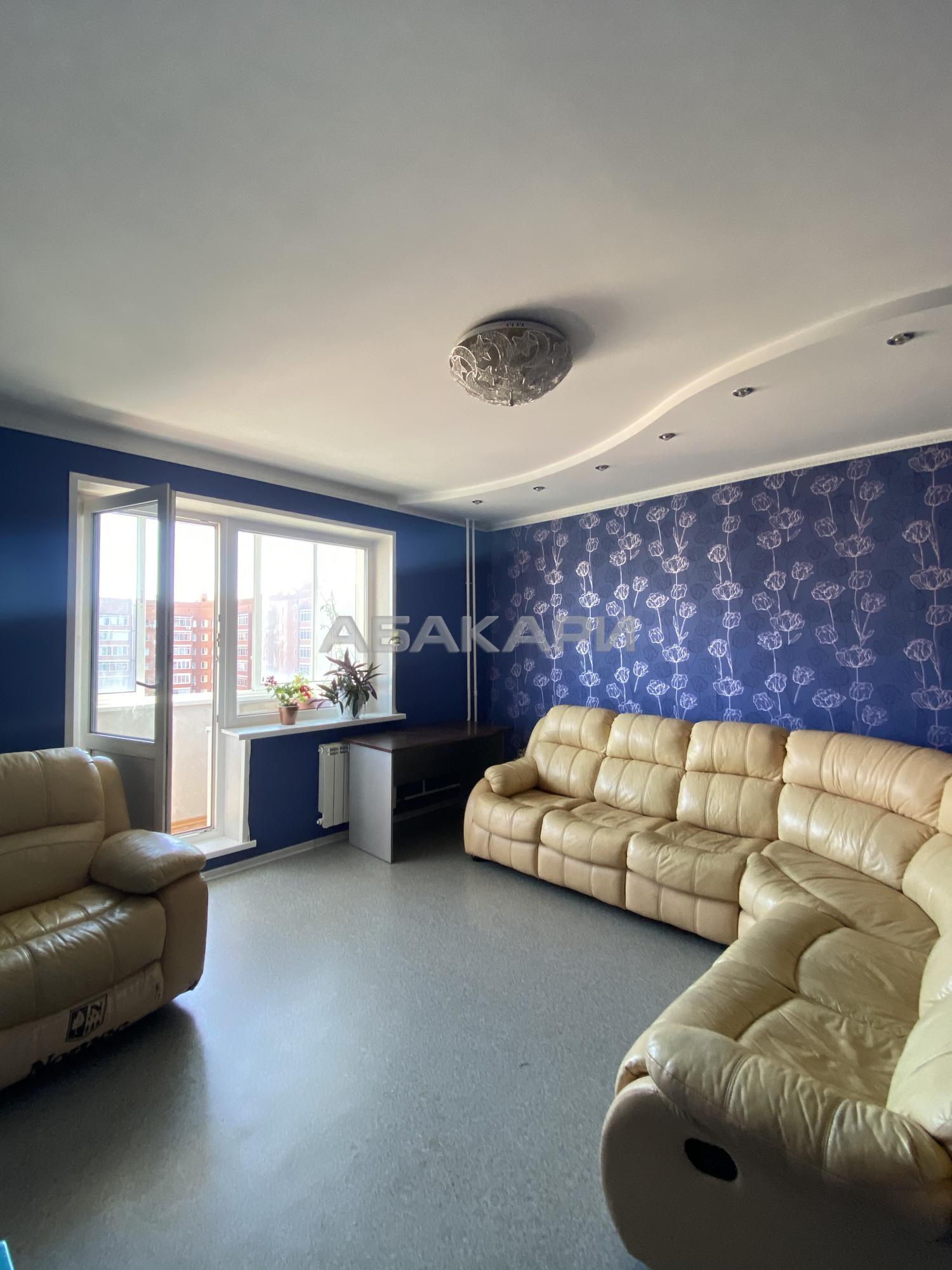 3к квартира улица Урванцева, 8 9/10 - 70кв | 35000 | аренда в Красноярске фото 0