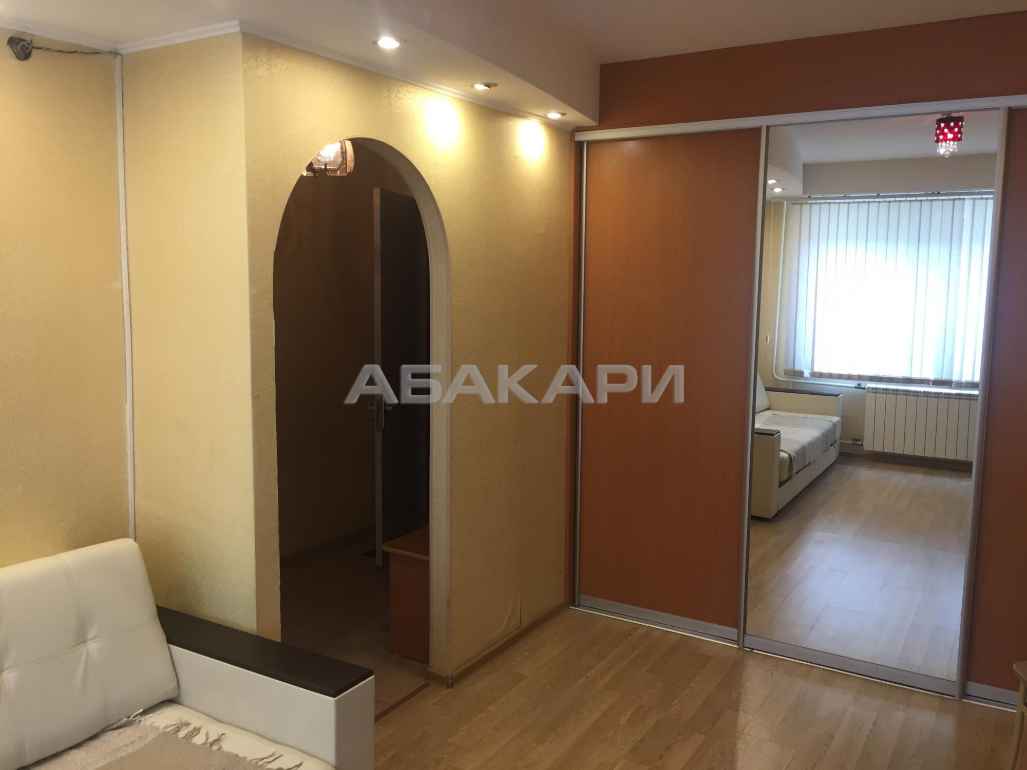 1к квартира улица Железнодорожников, 10 1/9 - 28кв | 16500 | аренда в Красноярске фото 1