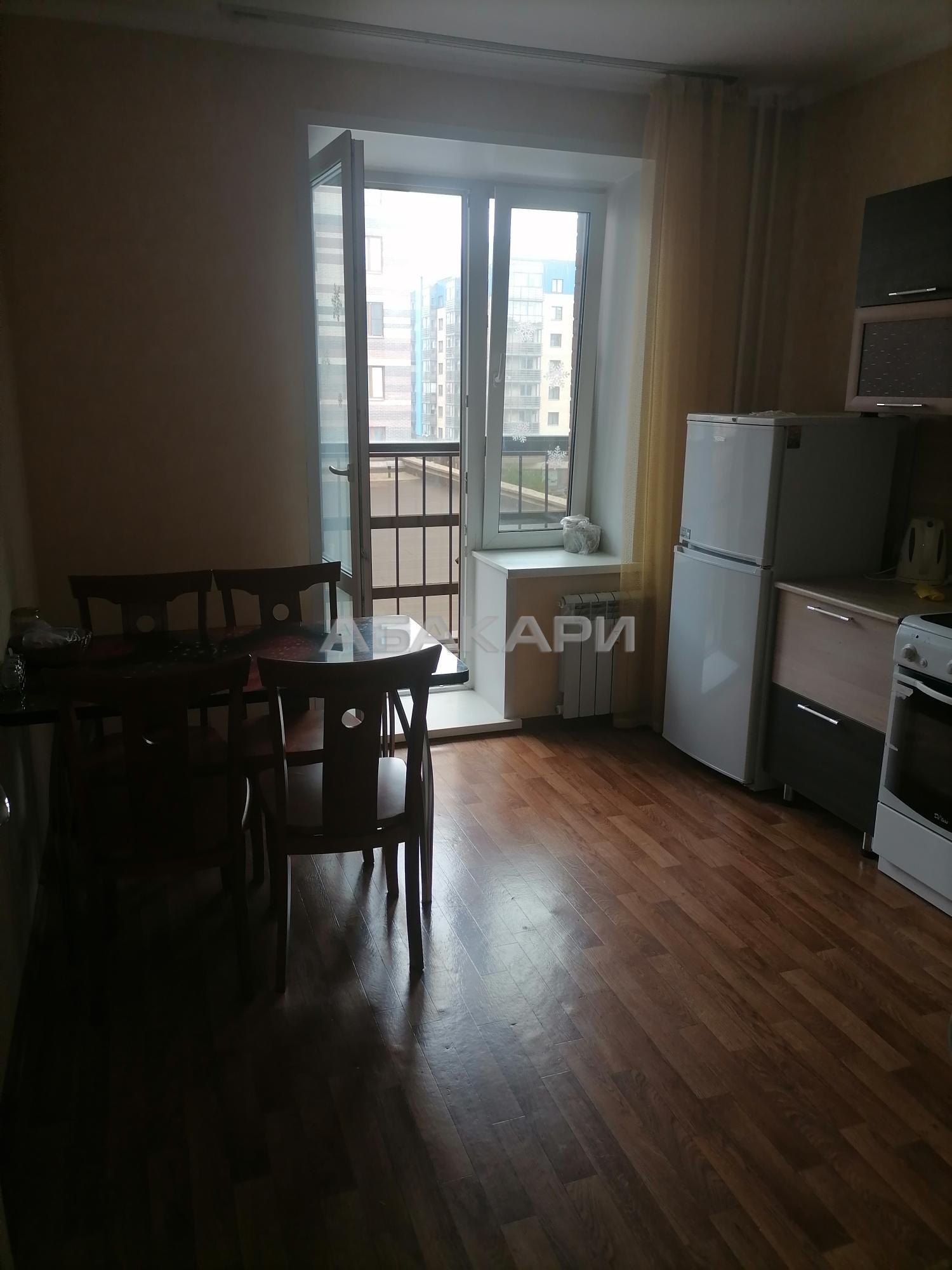 1к квартира Капитанская улица, 10 | 22000 | аренда в Красноярске фото 2