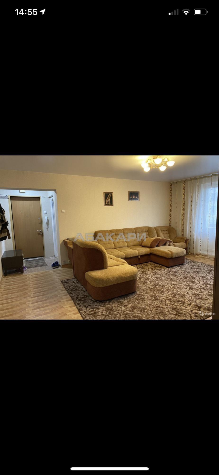 3к квартира улица Урванцева, 16   28000   аренда в Красноярске фото 1