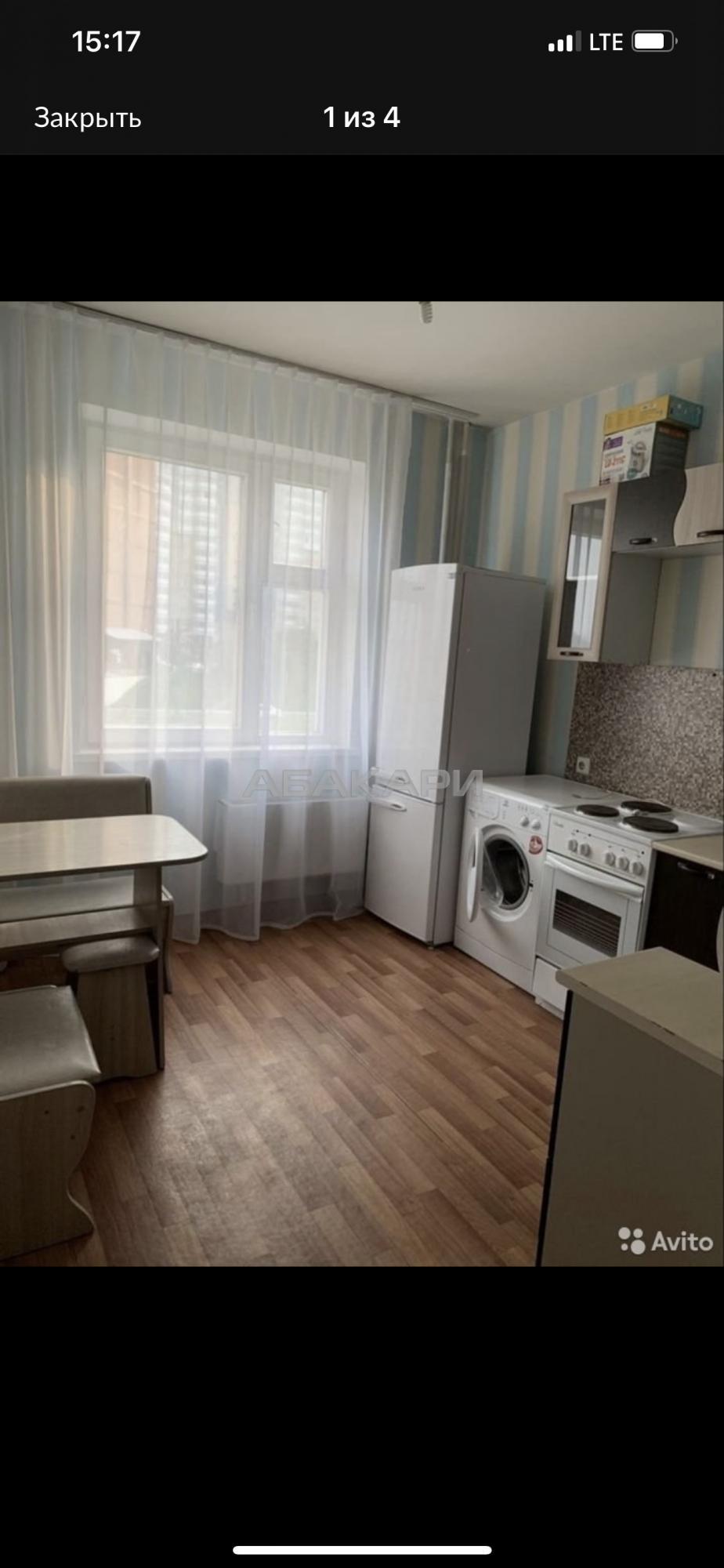 1к квартира улица Мужества, 23   20000   аренда в Красноярске фото 2