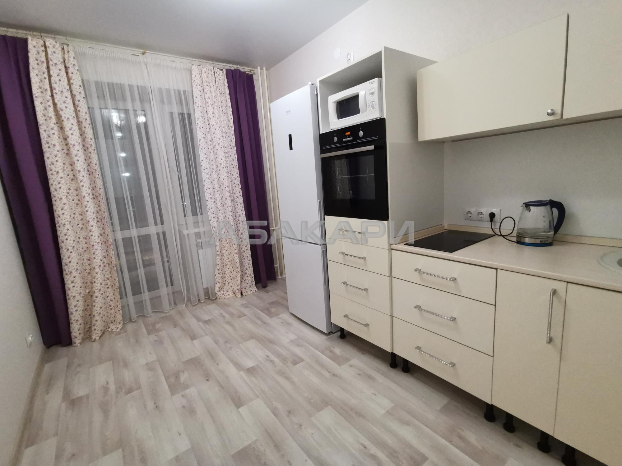 1к квартира улица Академгородок, 66 3/8 - 36кв   24000   аренда в Красноярске фото 1