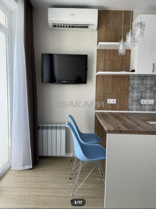 1к квартира улица Урицкого, 61 8/10 - 42кв | 15000 | аренда в Красноярске фото 2