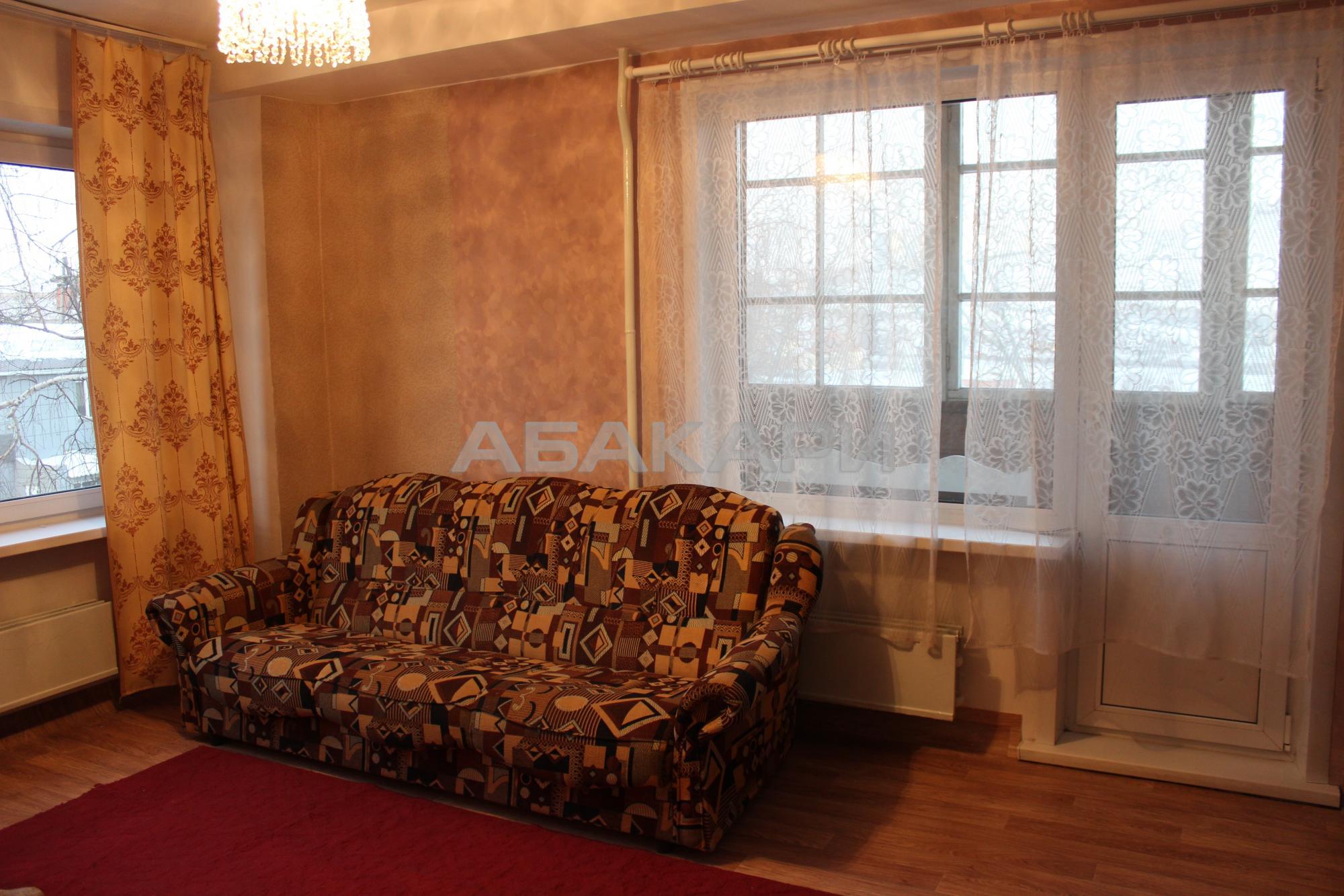 2к квартира улица Калинина, 2В 3/9 - 42кв   16000   аренда в Красноярске фото 0