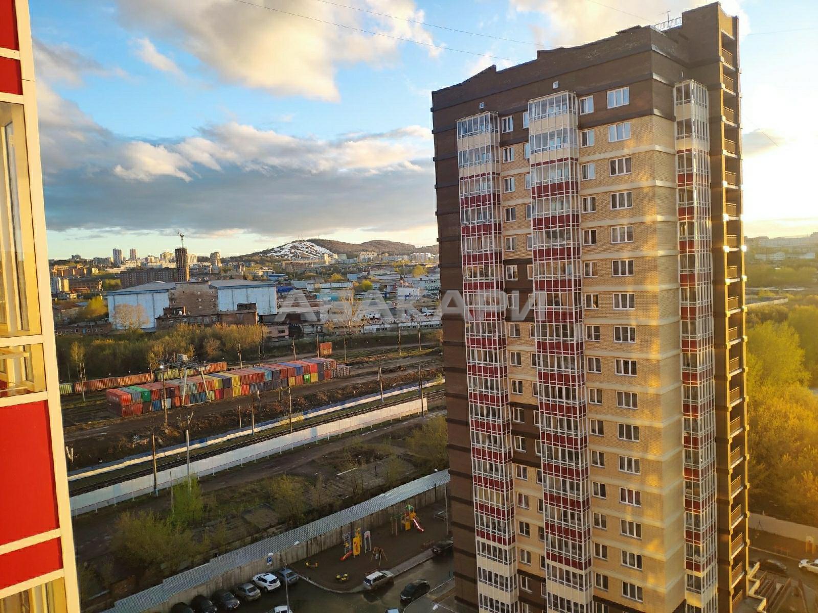 1к квартира улица Калинина, 49 стр.8 14/18 - 45кв   15000   аренда в Красноярске фото 1