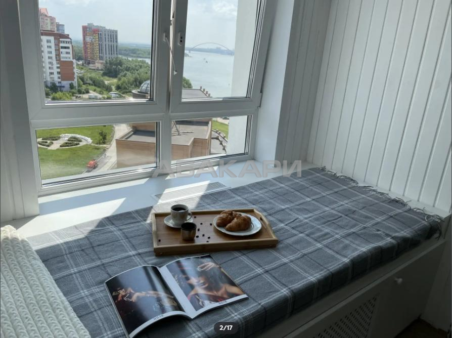 1к квартира улица Урицкого, 61 8/10 - 42кв | 15000 | аренда в Красноярске фото 1