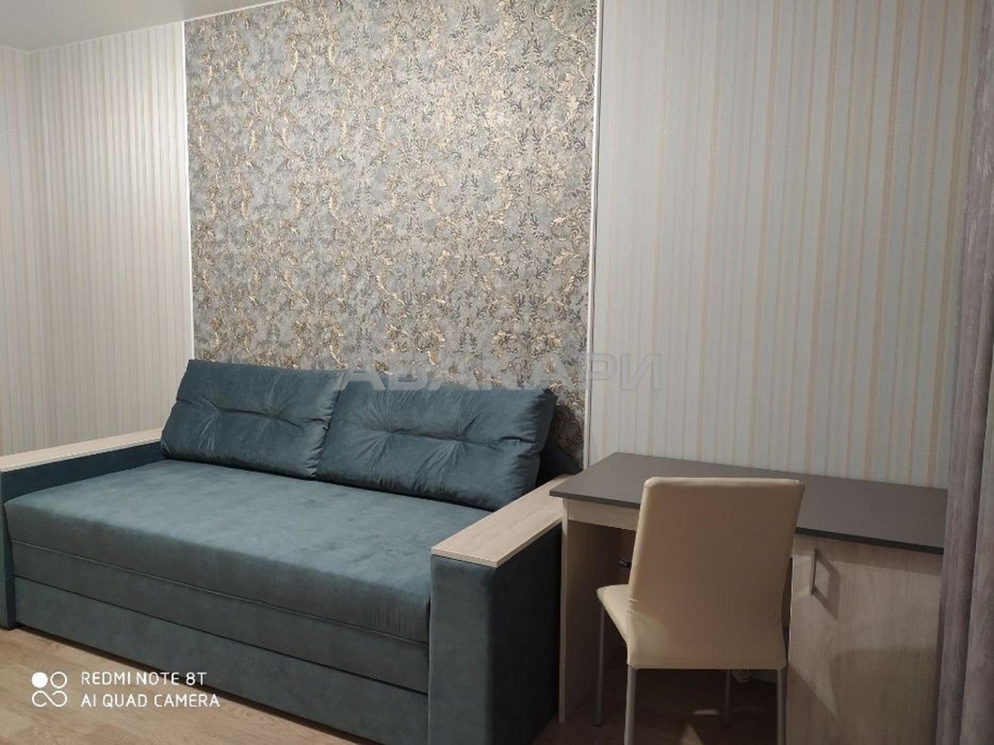 1к квартира улица Чернышевского, 118 5/14 - 38кв   15000   аренда в Красноярске фото 3