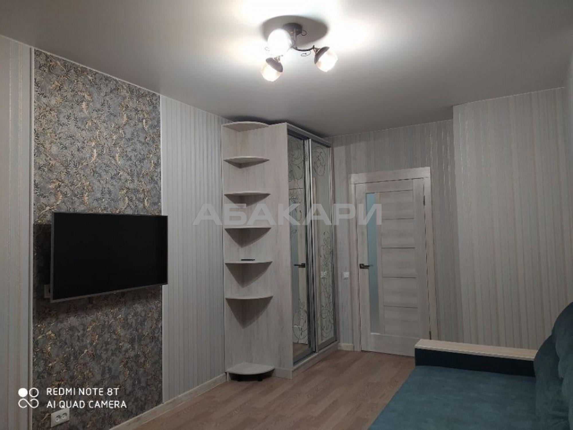 1к квартира улица Чернышевского, 118 5/14 - 38кв   15000   аренда в Красноярске фото 2