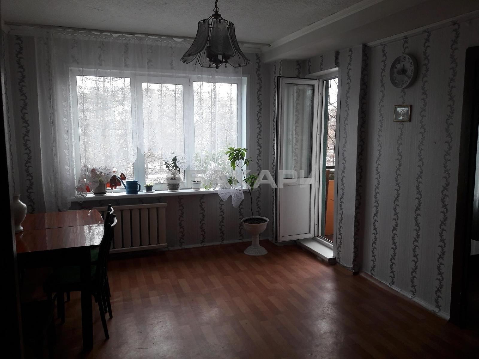 1к квартира Свердловская улица, 37 3/9 - 36кв | 12000 | аренда в Красноярске фото 0