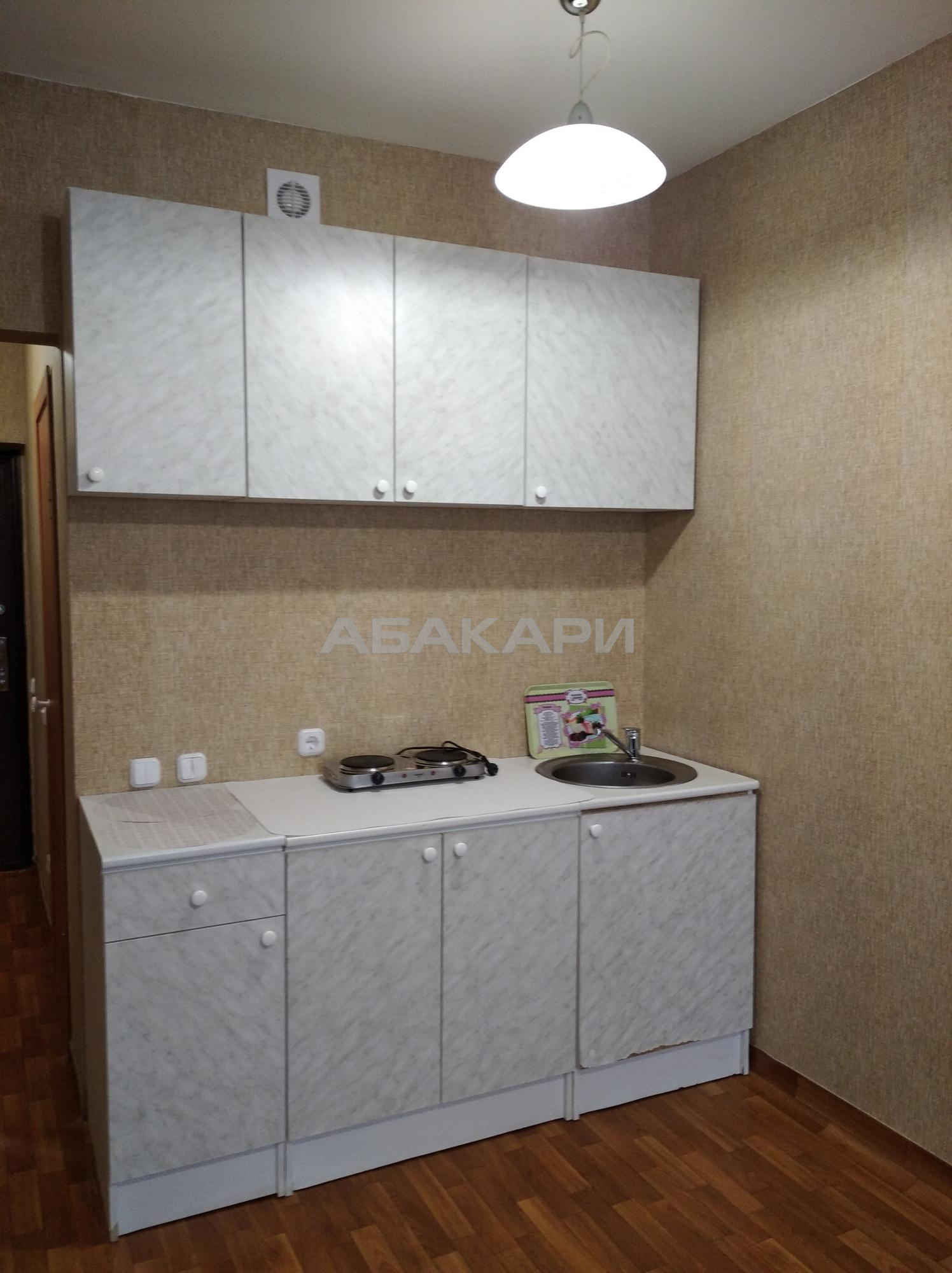 студия улица Карамзина, 9 12/17 - 25кв | 10000 | аренда в Красноярске фото 1