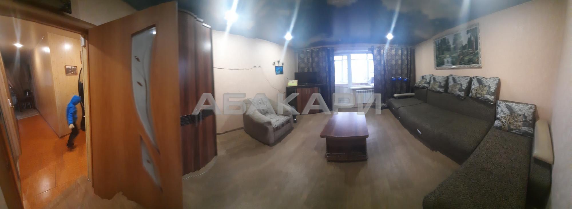 1к квартира улица Щорса, 48А 5/9 - 36кв | 20000 | аренда в Красноярске фото 0