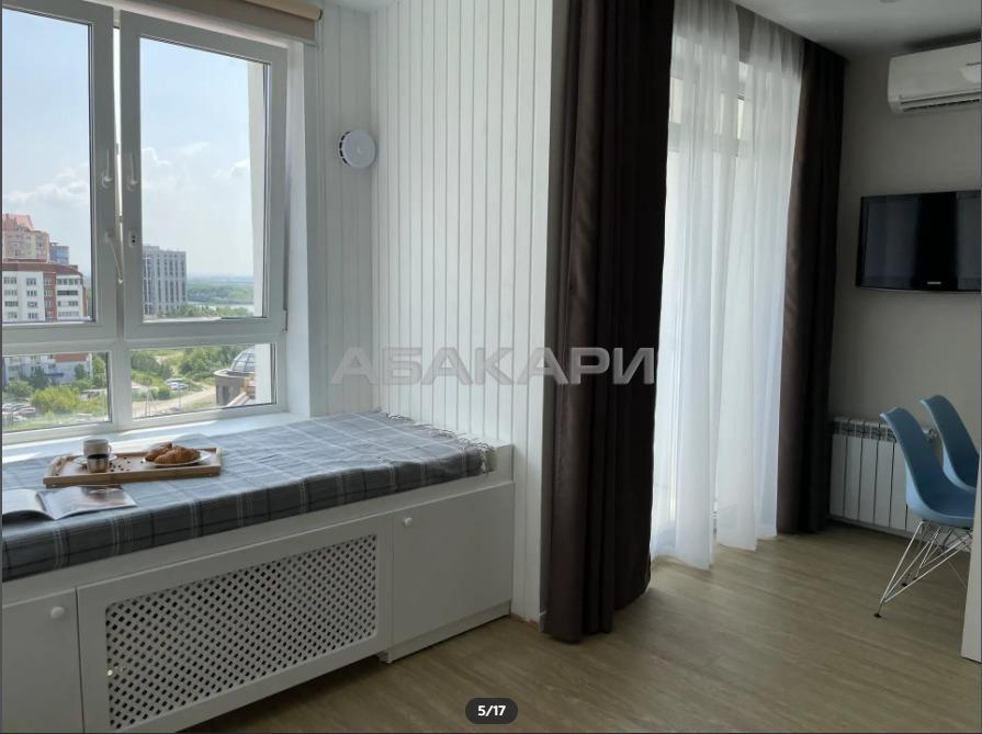 1к квартира улица Урицкого, 61 8/10 - 42кв | 15000 | аренда в Красноярске фото 3