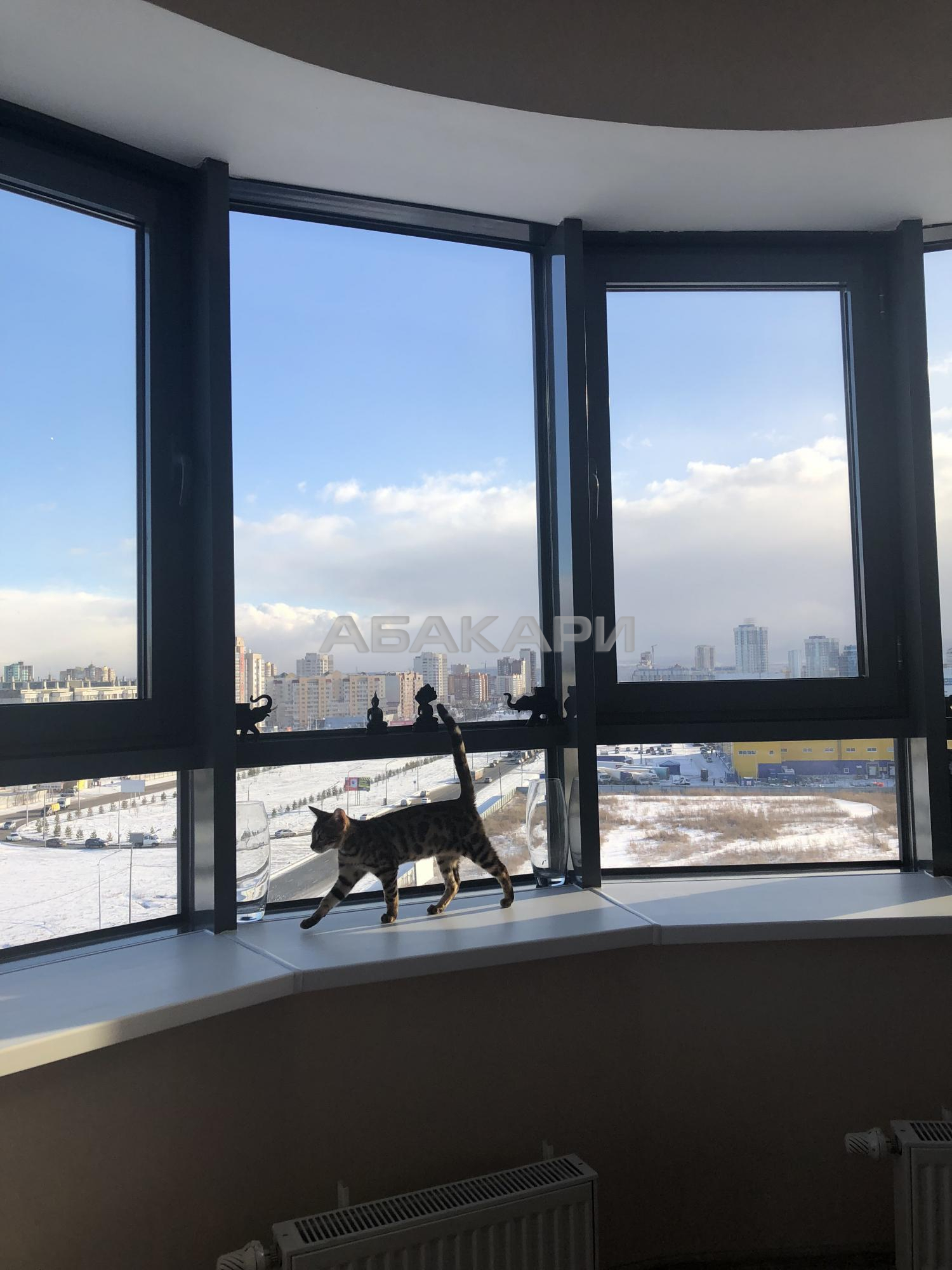2к квартира улица Петра Ломако, 2 9/9 - 60кв   40000   аренда в Красноярске фото 11