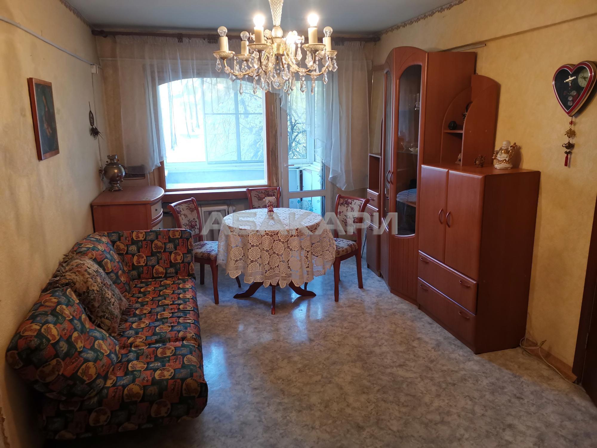 2к квартира Волгоградская улица, 17А 2/5 - 45кв | 16000 | аренда в Красноярске фото 2