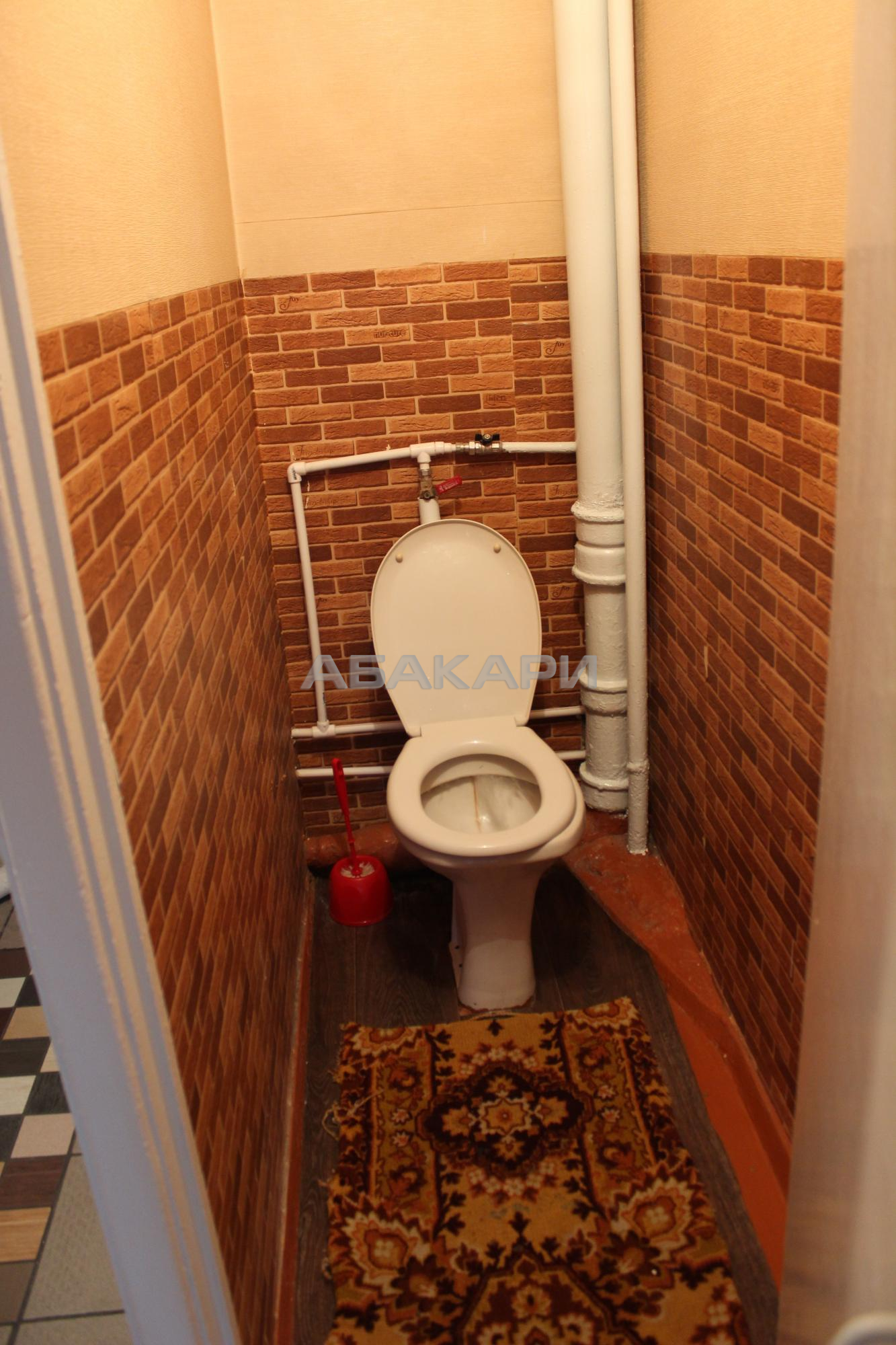 2к квартира улица Калинина, 2В 3/9 - 42кв   16000   аренда в Красноярске фото 5
