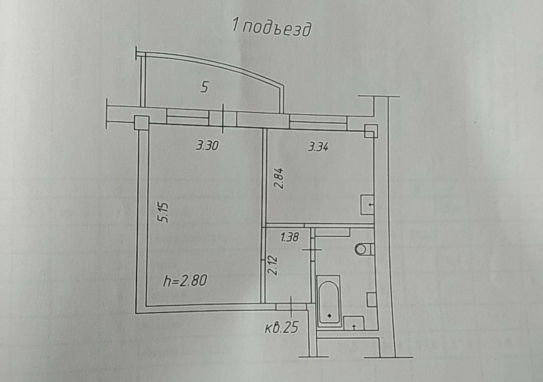 1к квартира ул. Карамзина, 14 | 15000 | аренда в Красноярске фото 11
