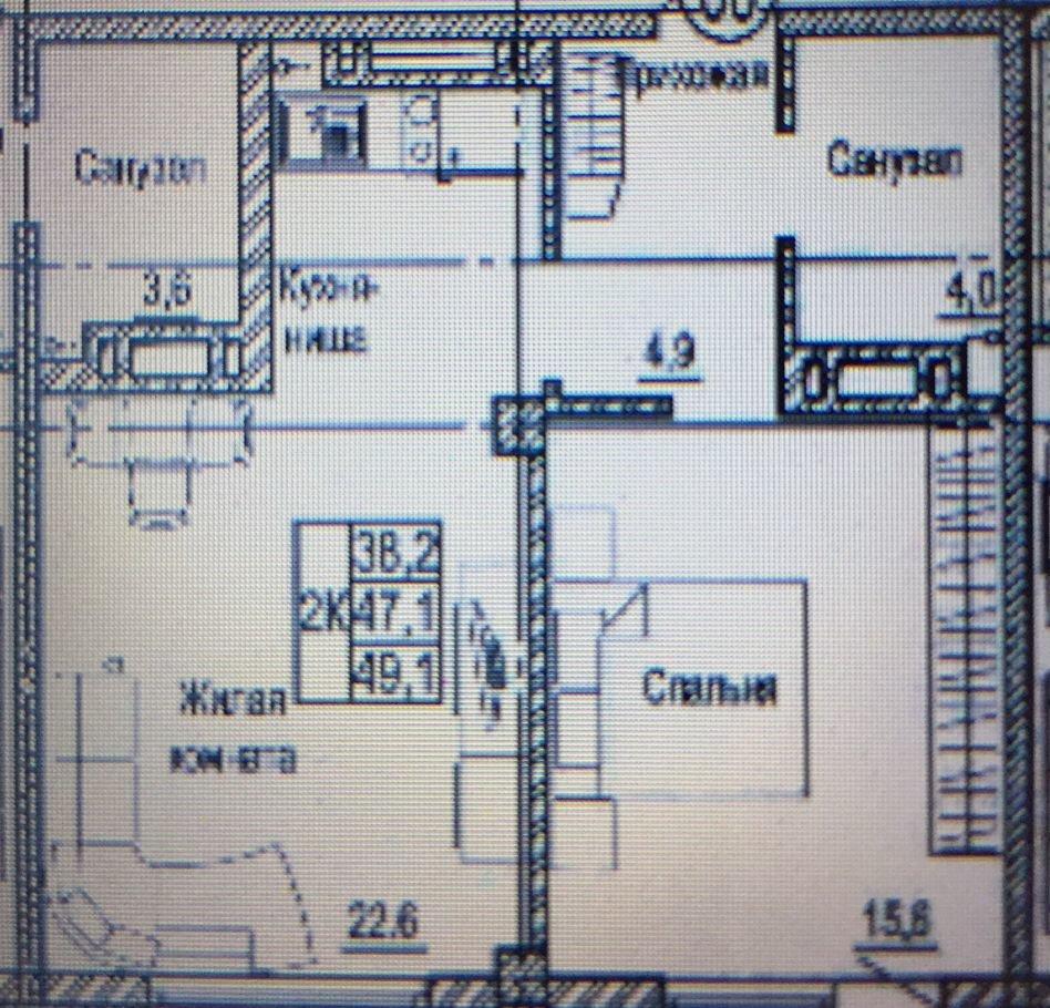 2к квартира Ярыгинская наб., 9А | 27000 | аренда в Красноярске фото 24
