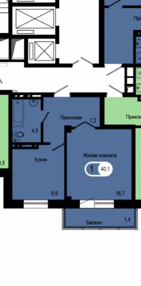1к квартира ул. Петра Подзолкова, 3И | 18000 | аренда в Красноярске фото 19