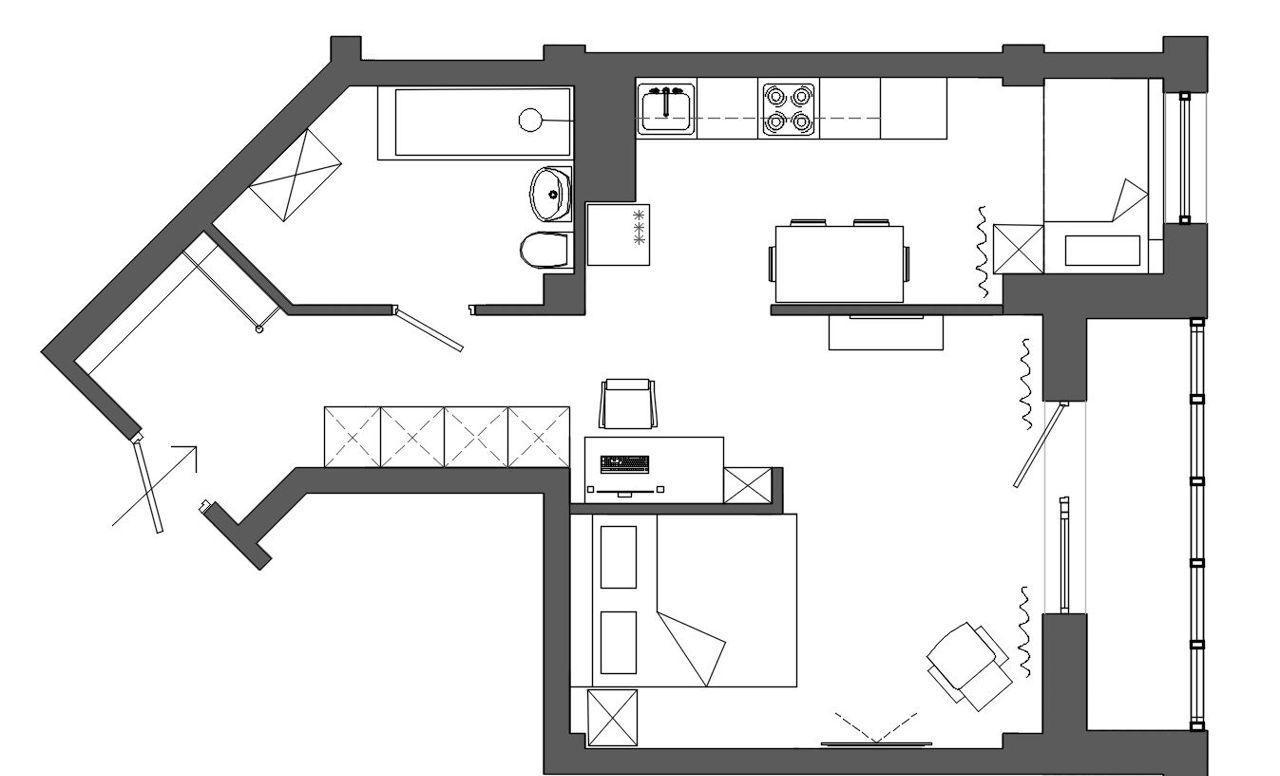 1к квартира ул. Петра Ломако, 14 | 24000 | аренда в Красноярске фото 0
