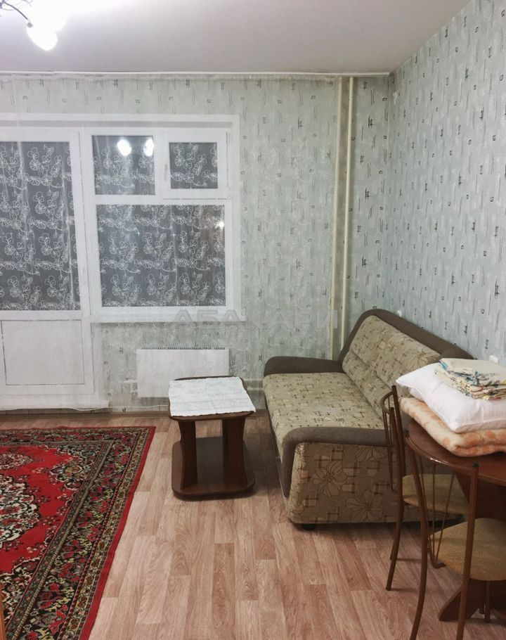 студия ул. Петра Подзолкова, 5А | 17000 | аренда в Красноярске фото 1