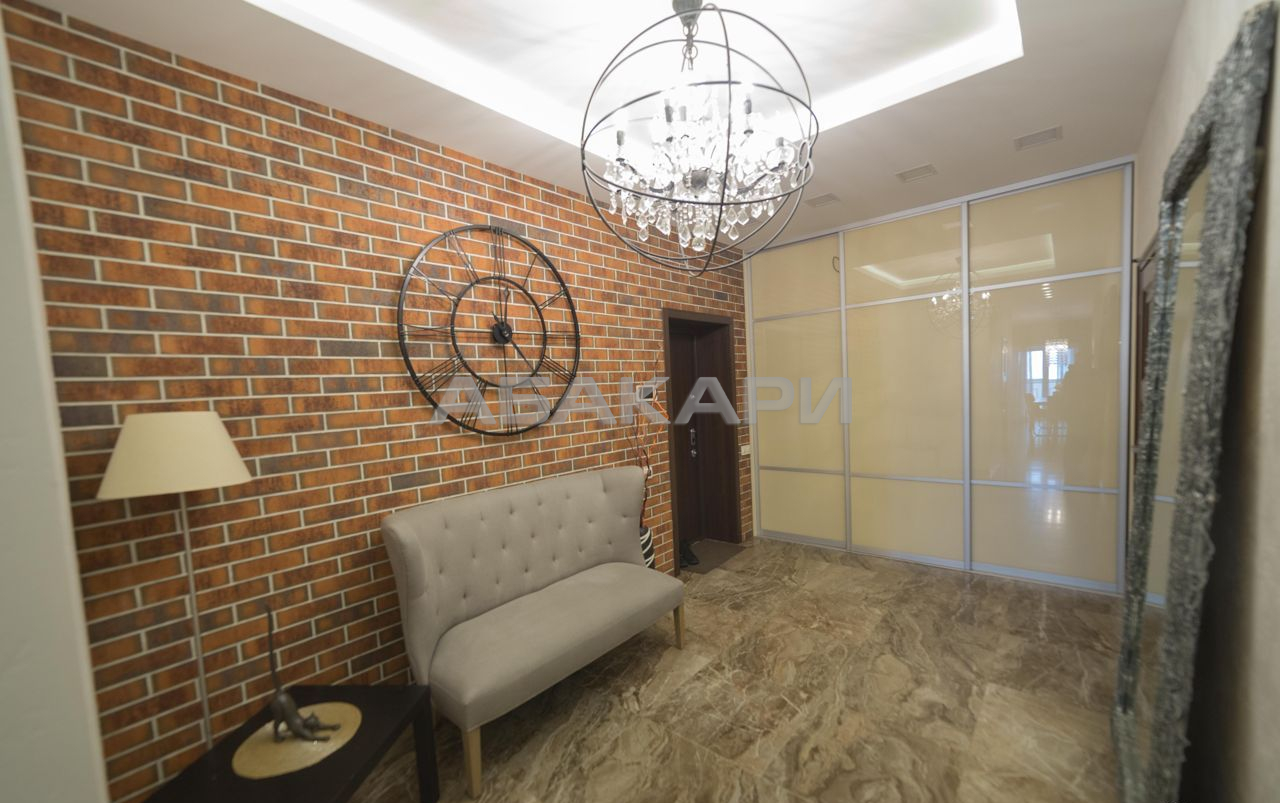 2к квартира ул. Ломоносова, 11А 10/10 - 100кв | 88000 | аренда в Красноярске фото 16