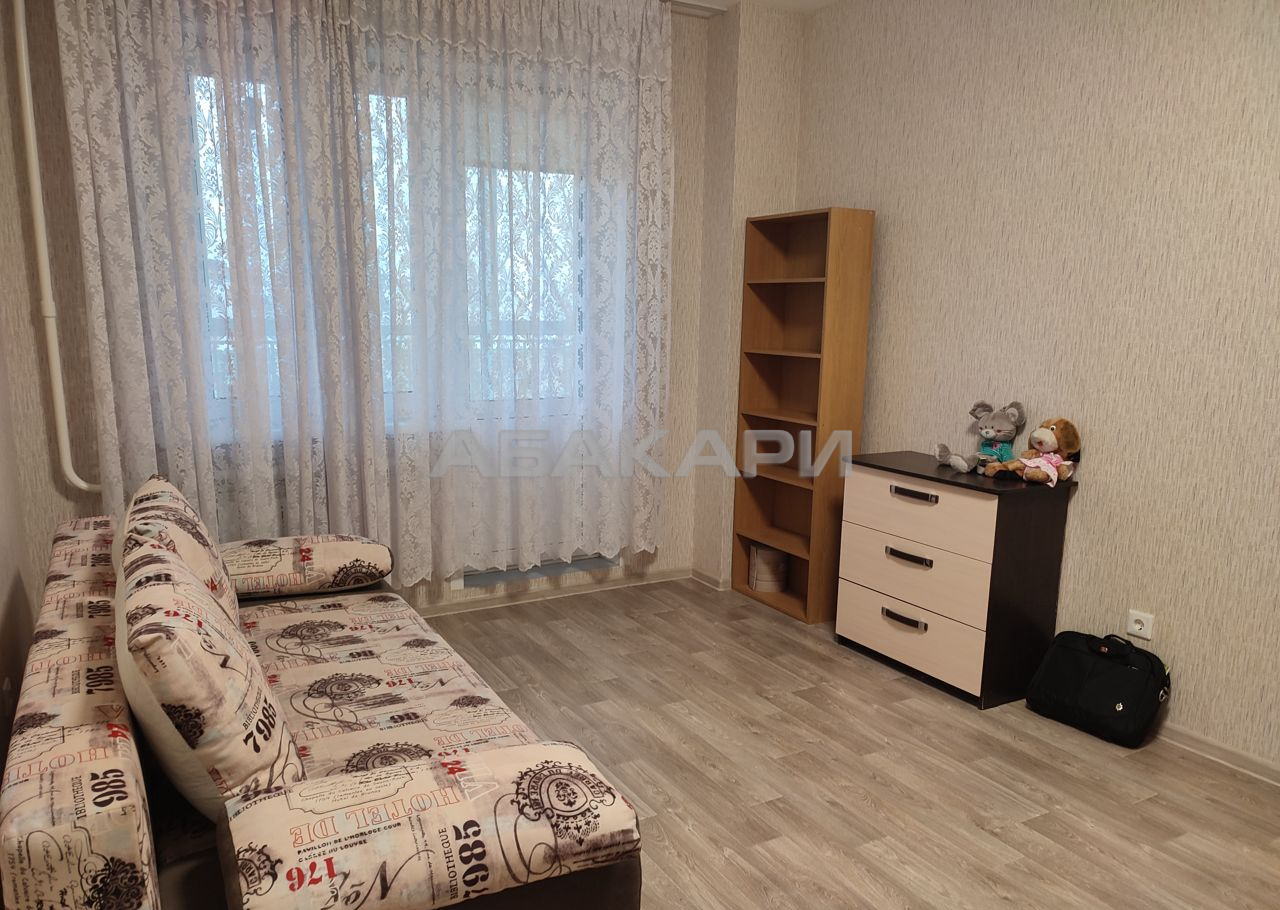 1к квартира ул. Александра Матросова, 40 4/21 - 43кв   20000   аренда в Красноярске фото 0